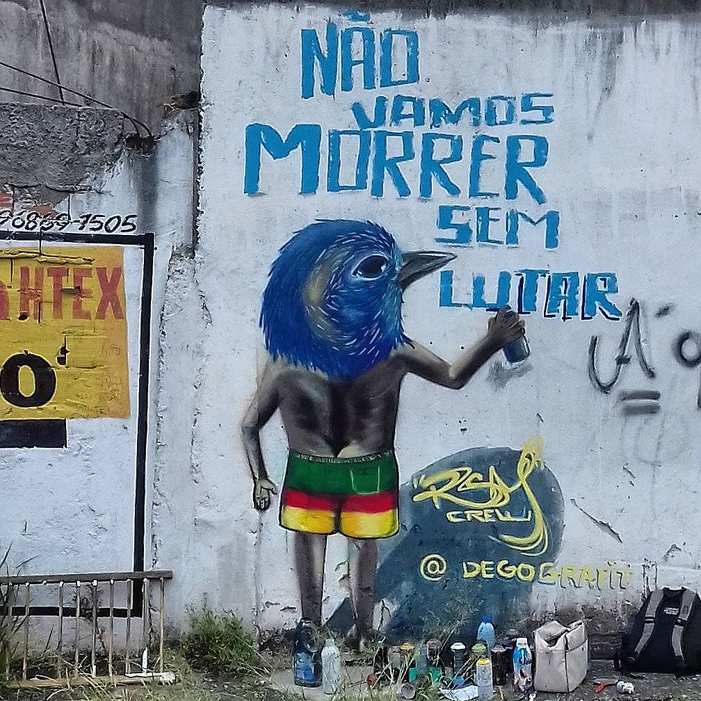 #Art #artRua #sprayart #streetartsp #spray #streetartBrasil #streetstyle #globalstreetart #intervençãourbana #streetartsaopaulo #graffiti #graffitilife #SP #sampa