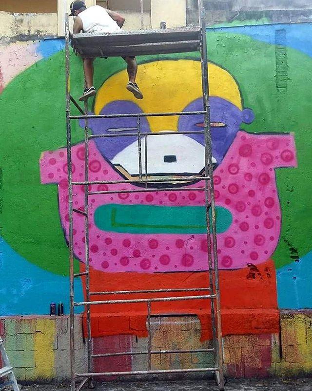 Mural em Processo. www.jgor.com.br #ruas #street #streetart #abstract #canvas #artgallery #urbanart #saopaulo #spraycans #jgor_art #drawing #creature #céu #brarts #streetartsp #artmiami #artwork #ipiranga #boulevard #urbanarts #artdesign #streetart_official #elgraffiti #streetartlondon #instagrafite #brstreet #tv_streetart #architecture #streetarts #