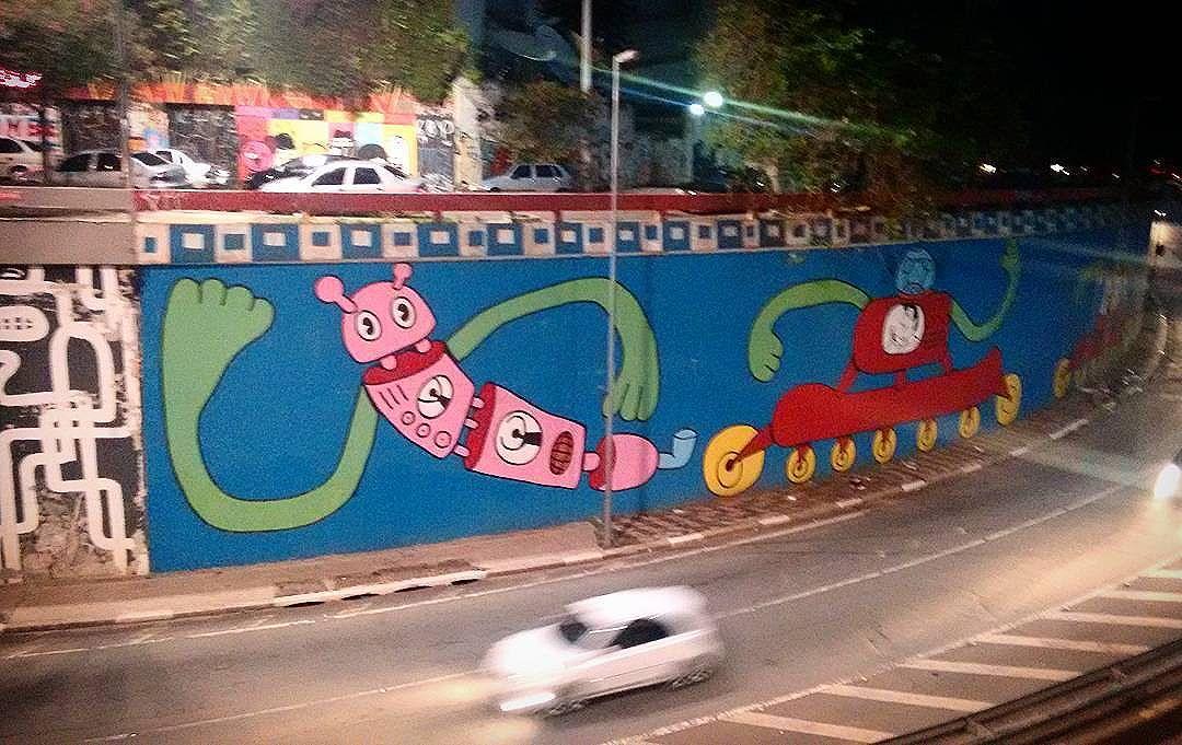 #paulista #splovers #streetartbrazil #streetartsp