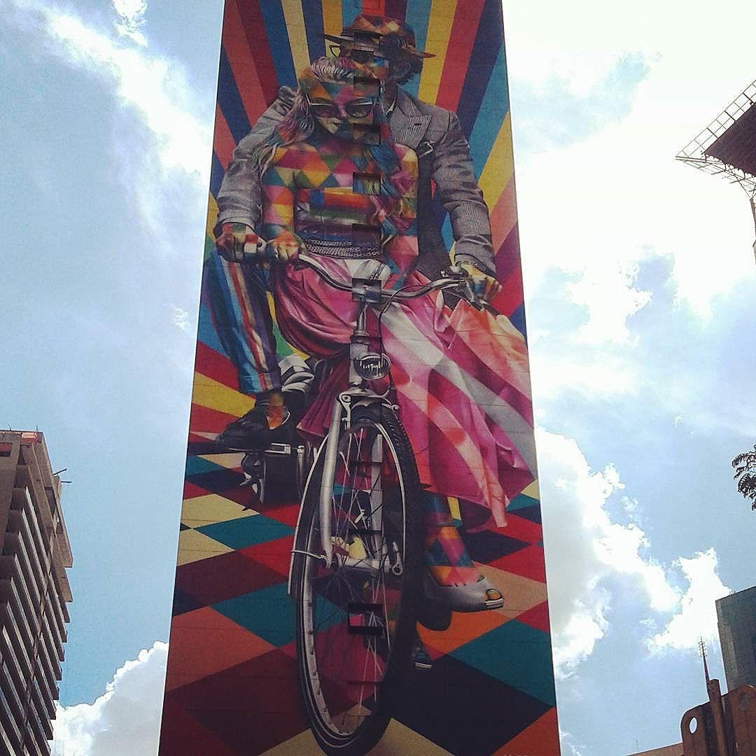 #streetartsp #streetartbrazil #nasruasdesaopaulo #tvminuto @kobrastreetart