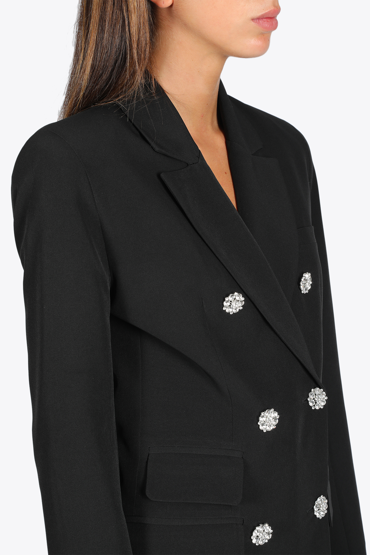 DOUBLE BREASTED BLAZER ACTUALEE | 3 | 5113 GI850BLACK