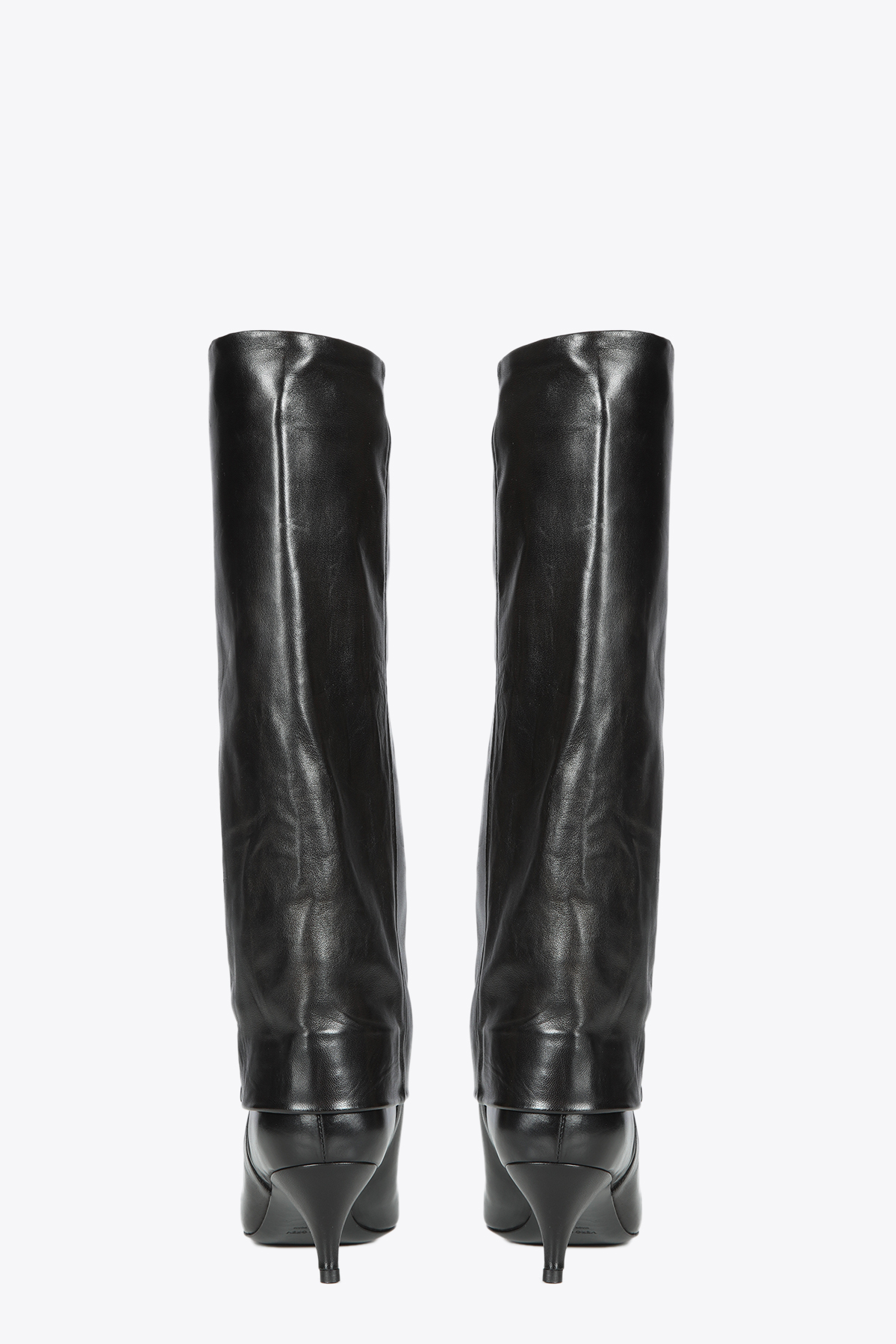 HIGH BOOTS WITH POINTED TOE ALCHIMIA | 76 | 23278BLACK
