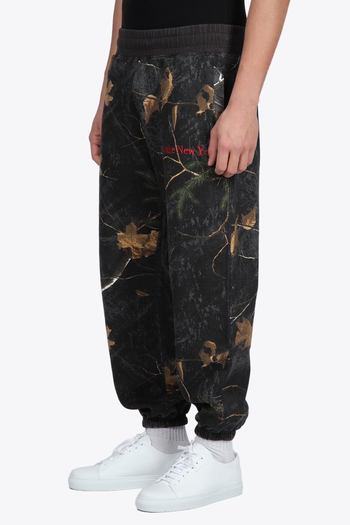 CLASSIC OUTLINE LOGO EMBROIDERED SWEATPANTS AWAKE NY   9   PT001 CLASSIC OUTLINE LOGO EMBROIDERED SREAL TREE