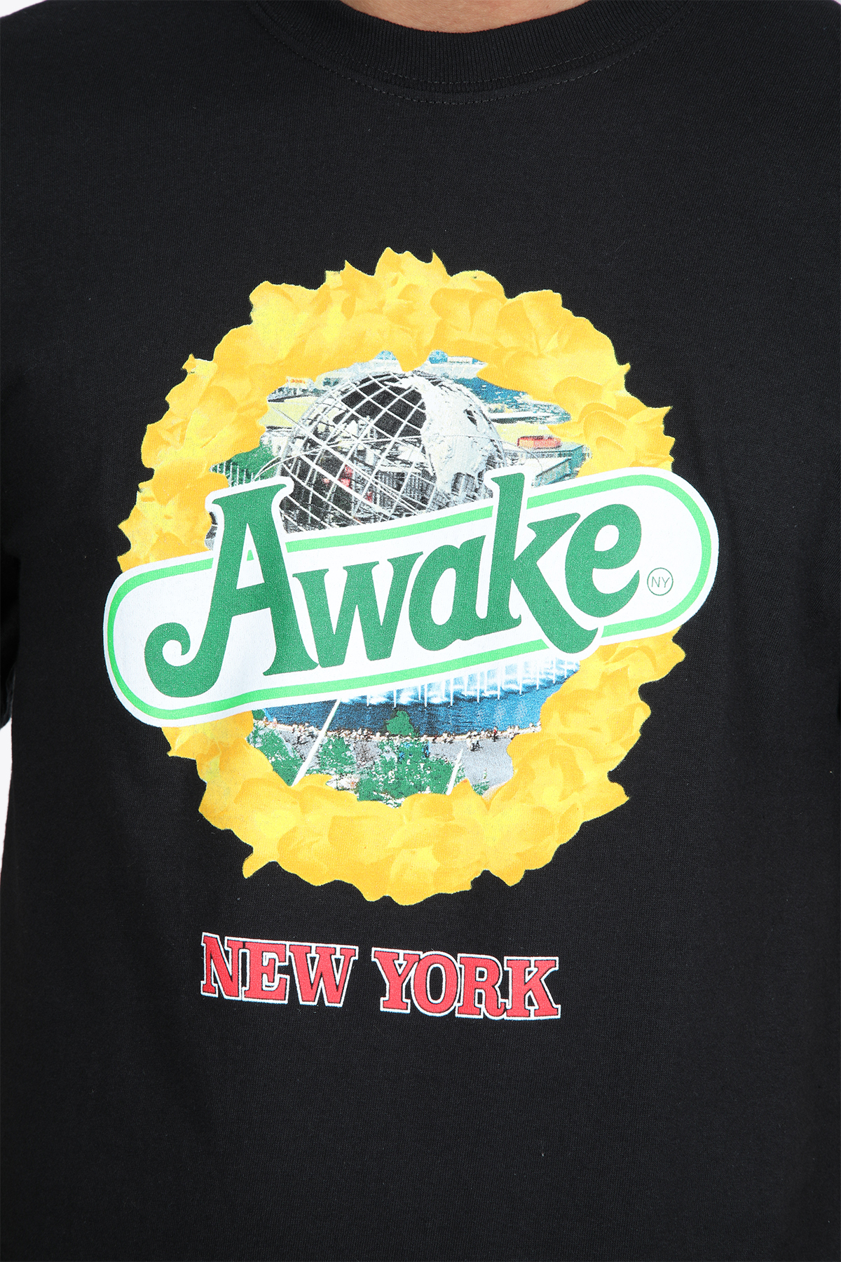 STRAWBERRY KIWI S/S TEE AWAKE NY | 8 | TS002 STRAWBERRY KIWI S/S TEEBLACK