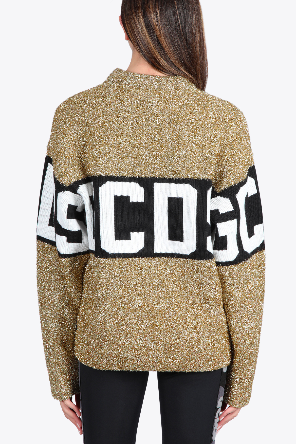 LOGO LUREX SWEATER GCDS | -1384759495 | CC94M022202 LOGO LUREX SWEATER16