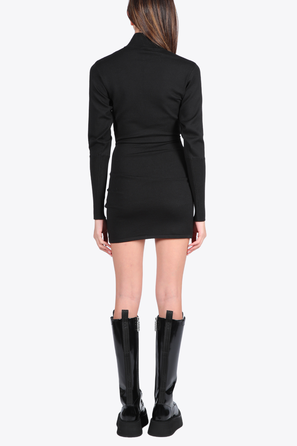 WRAPPED KNITTED DRESS GCDS | 11 | FW21W020019 WRAPPED KNITTED DRESS02