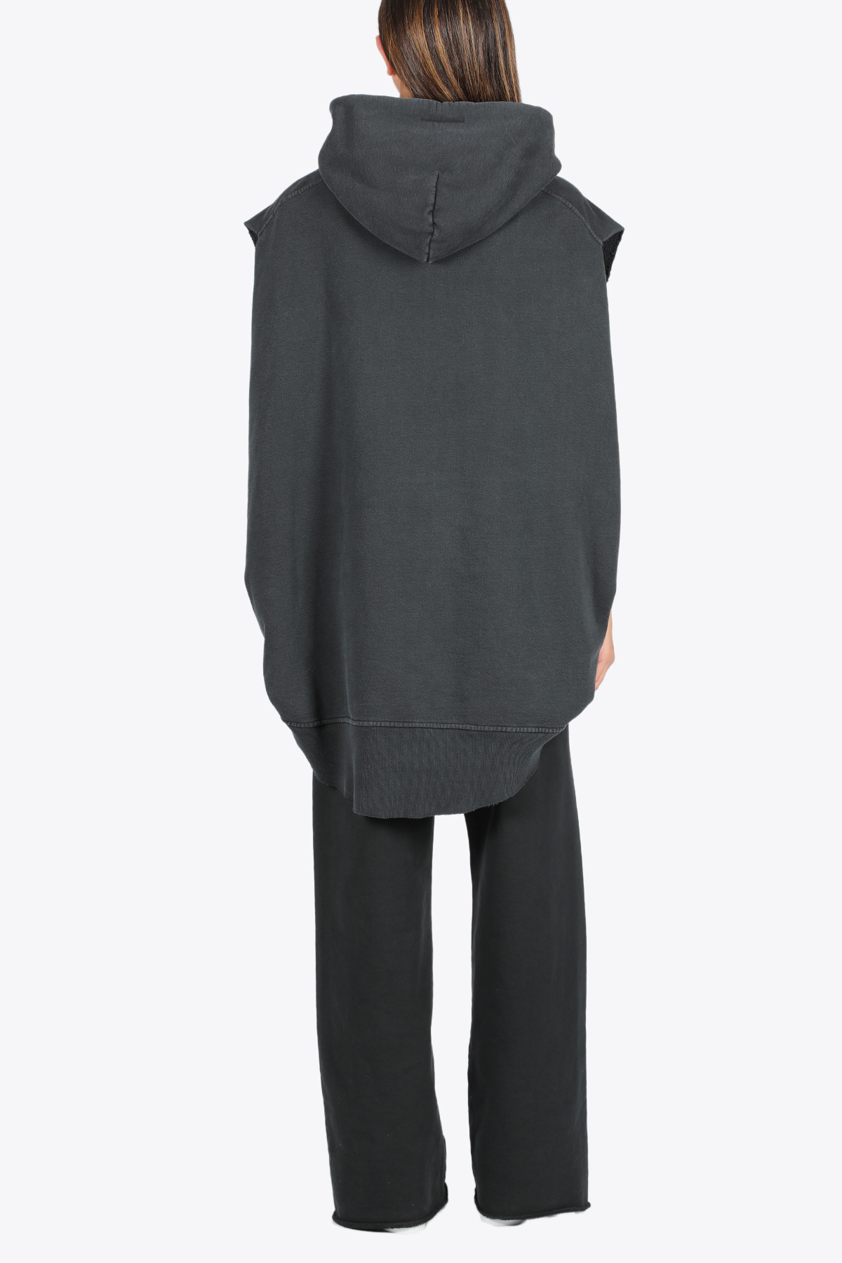 OVERSIZED SLEEVELESS HOODIE MM6 MAISON MARGIELA | 11 | S62CT0099 S25409855