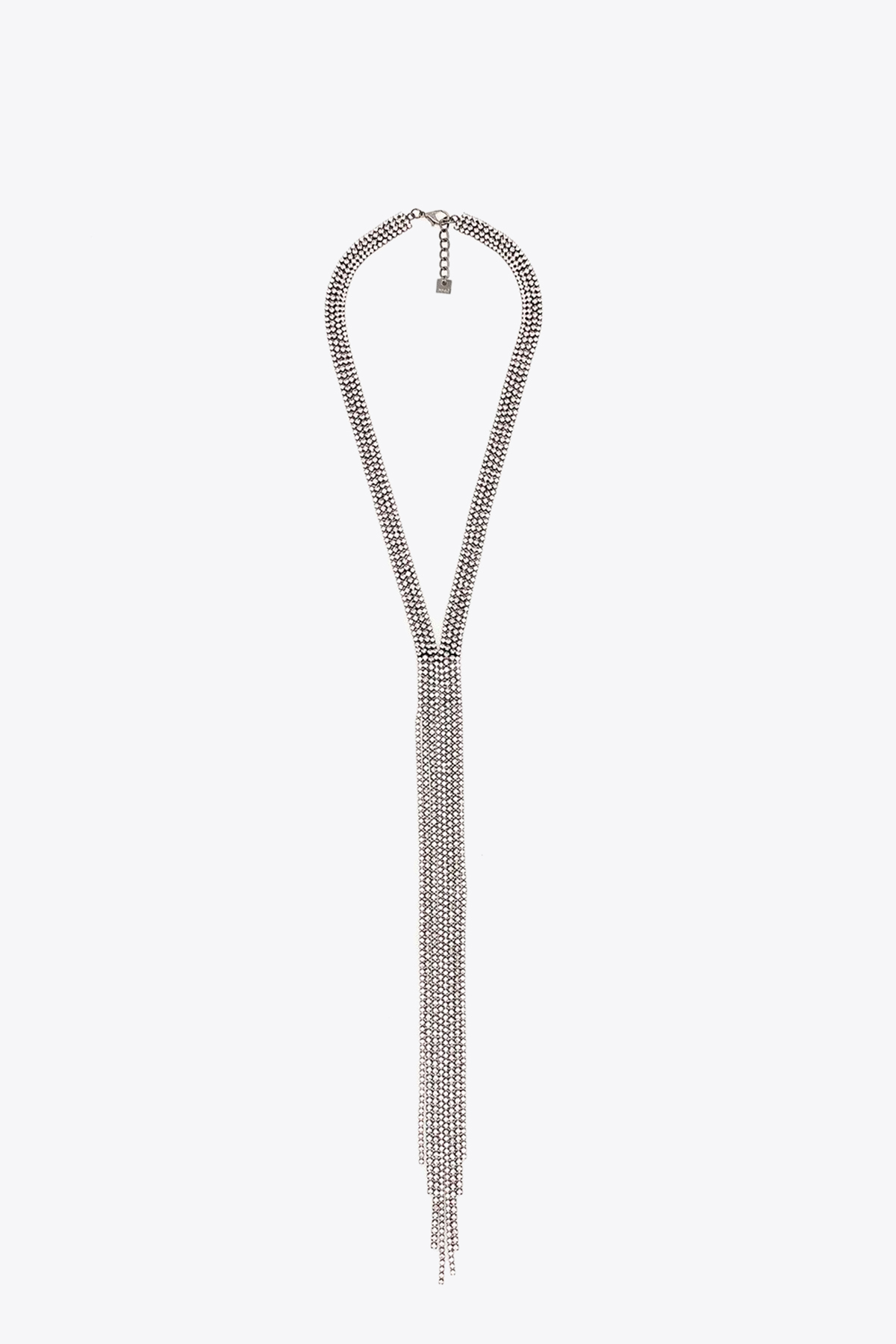 STRASS MULTISTRING NECKLACE NALI | 35 | LUCL0097SILVER