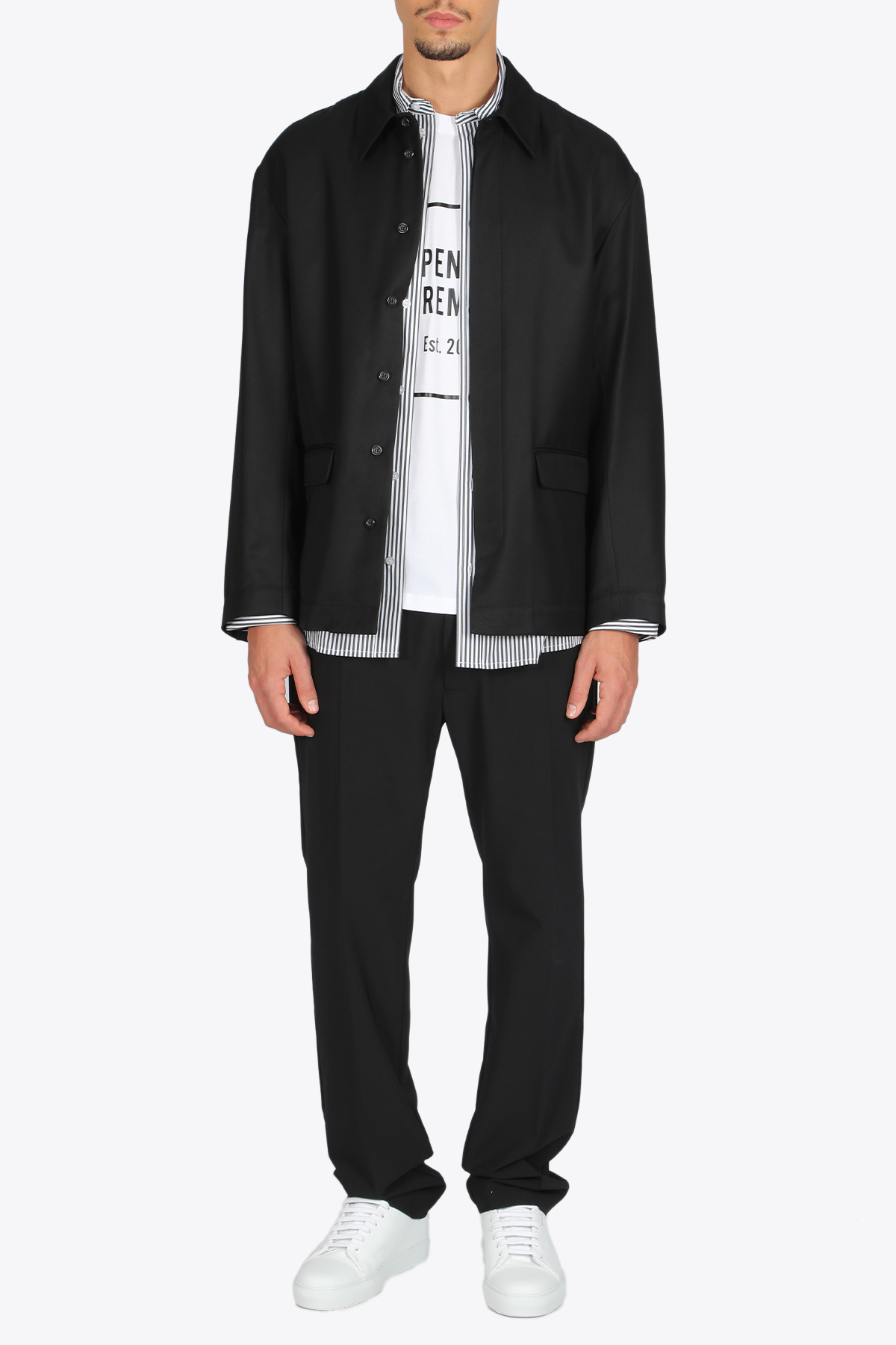 SUITING SHIRT OPENING CEREMONY | 3 | YMGA002F20FAB001 SUITING SHIRT1000