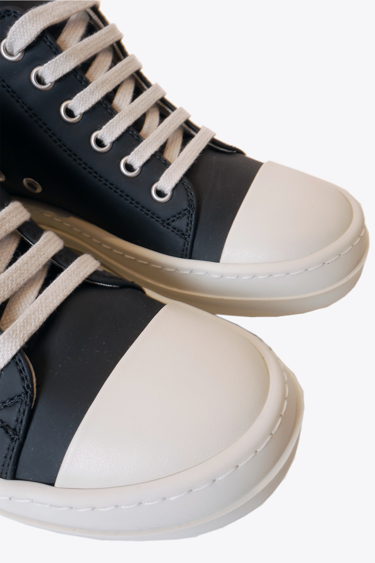 LACE UP LOW SNEAKERS RICK OWENS-DRKSHDW | 10000039 | DS20F1802 RUHP LOW SNEAKERS91