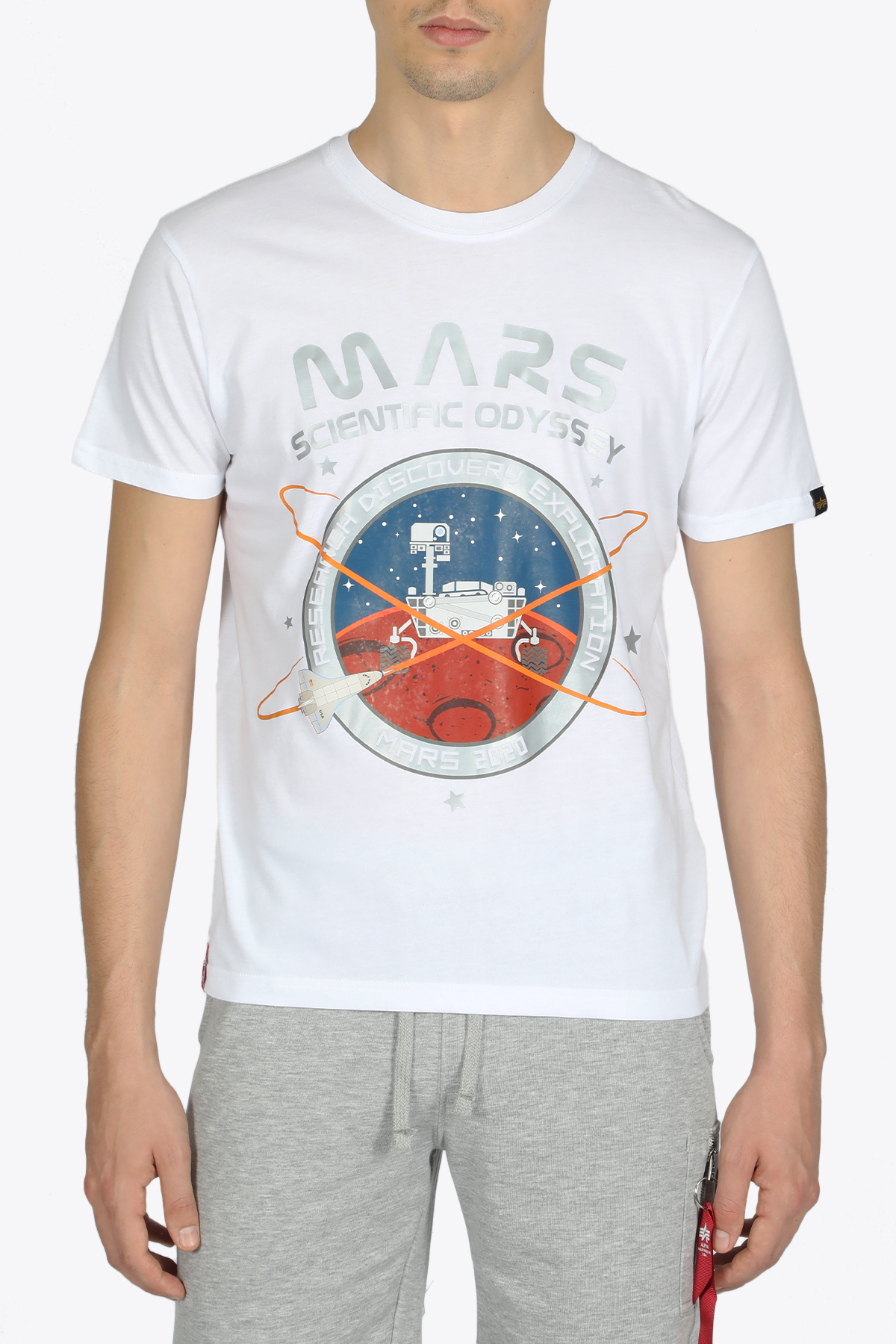 mission to mars tee ALPHA INDUSTRIES | 8 | 126531 MISSION TO MARS TEE09