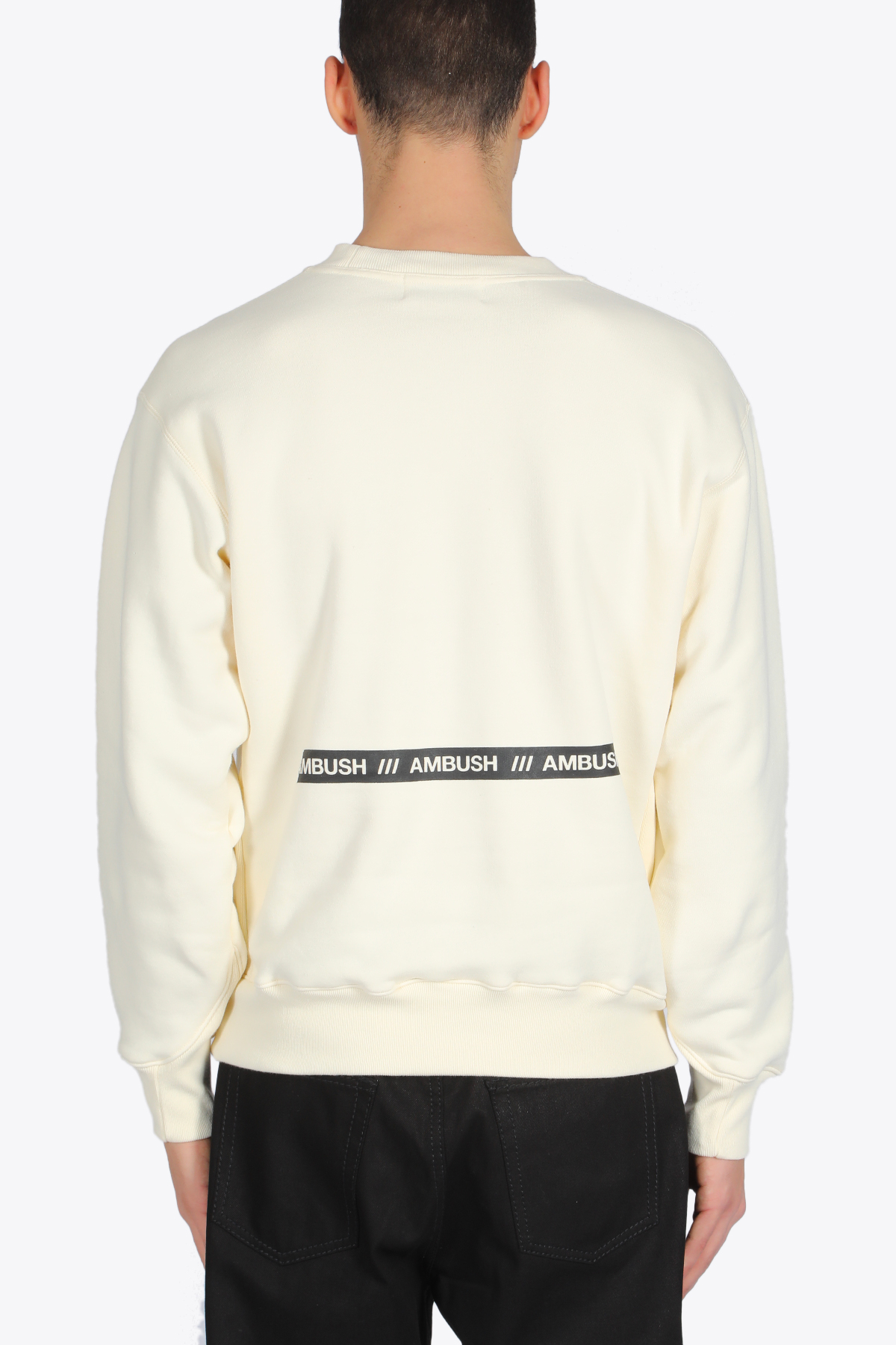 KNITTED NEW CREWNECK SWEATSHIRT AMBUSH | -108764232 | 12112067 KNITTED SHIRT NEW CREWNECK SWEAOFF WHITE