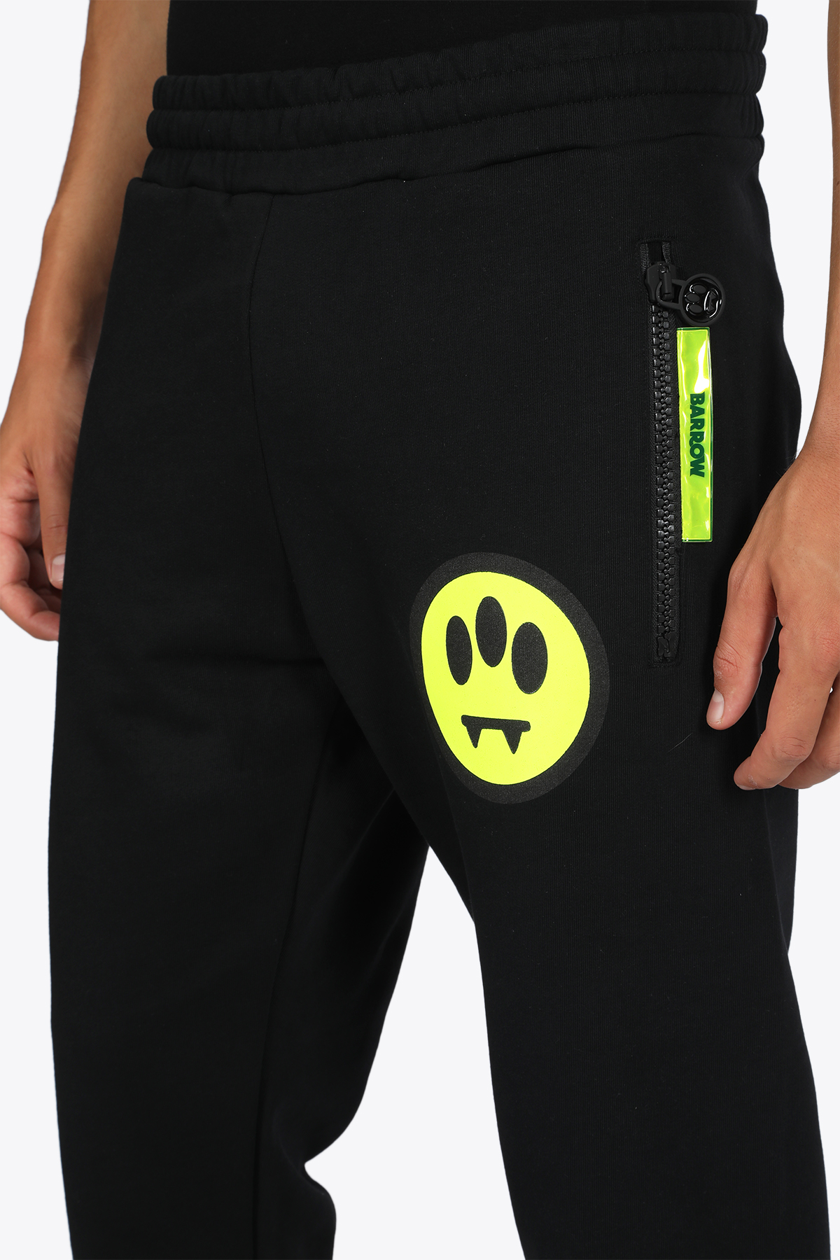LOGO sweatpants BARROW | 9 | 026675 SWEATPANTSBLACK