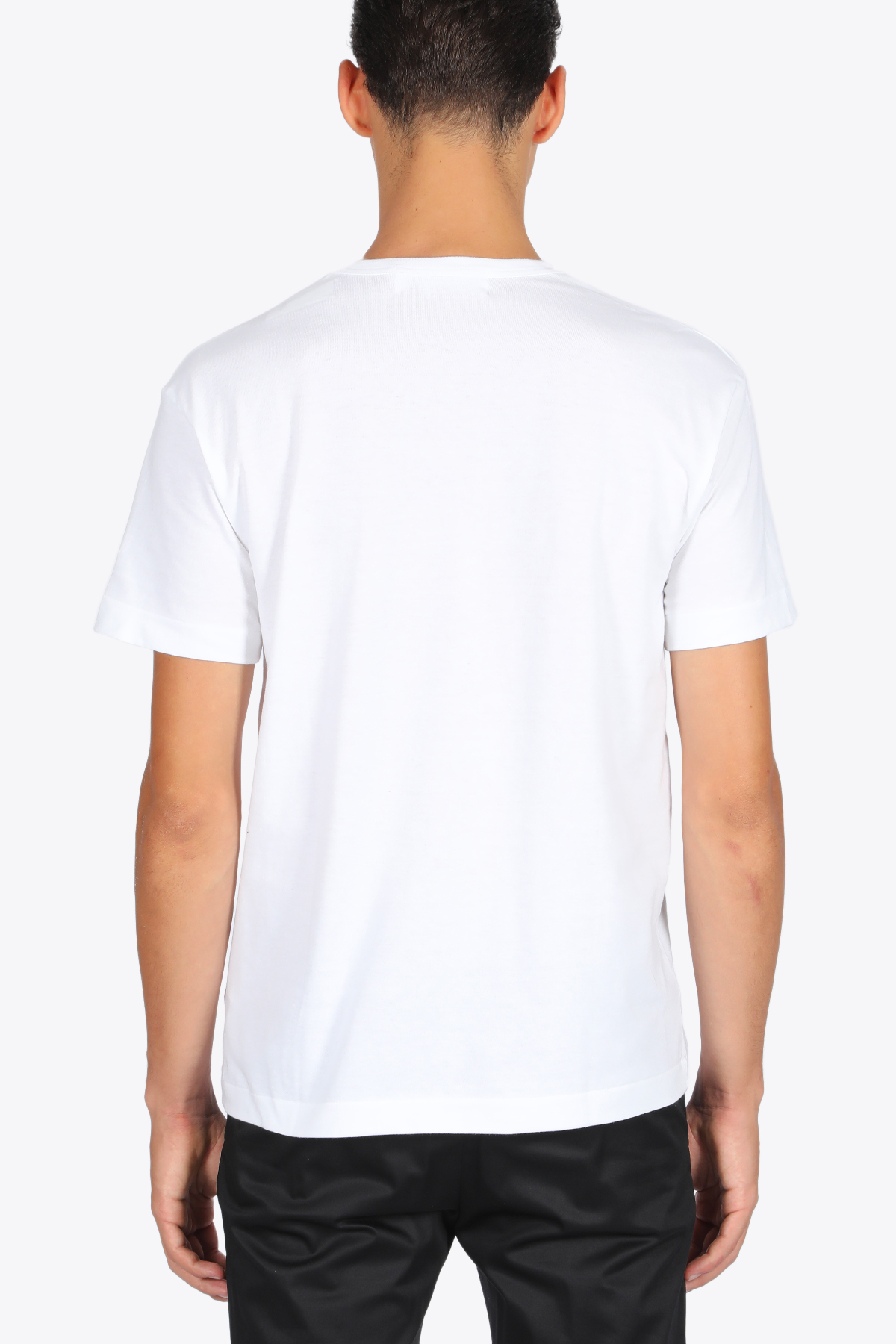 red heart patch t-shirt COMME DES GARCONS PLAY | 8 | P1T200WHITE