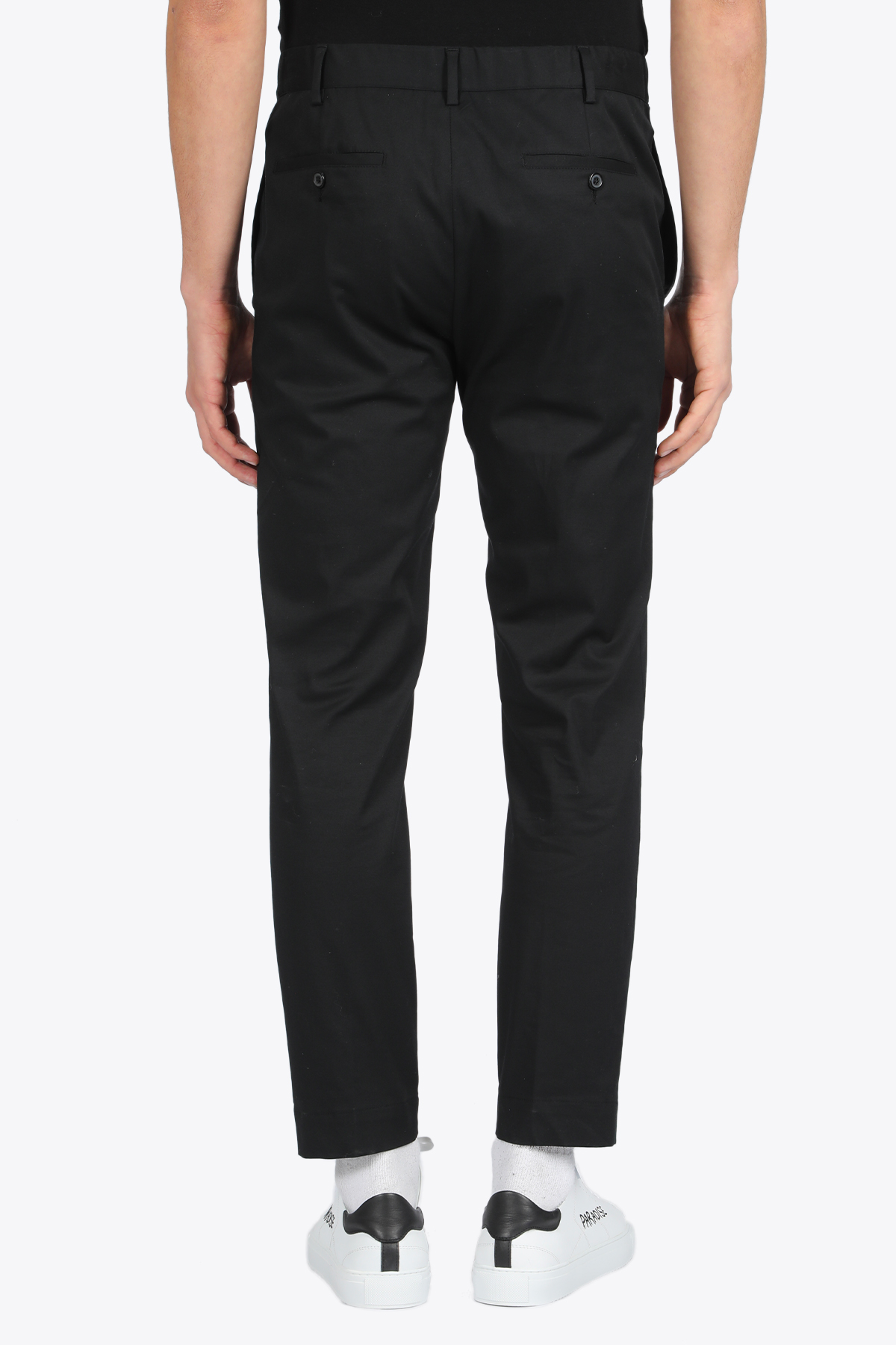 Skinny fit cotton pant GRIFONI   9   GG140011/40 PANTALONE COULISSE003