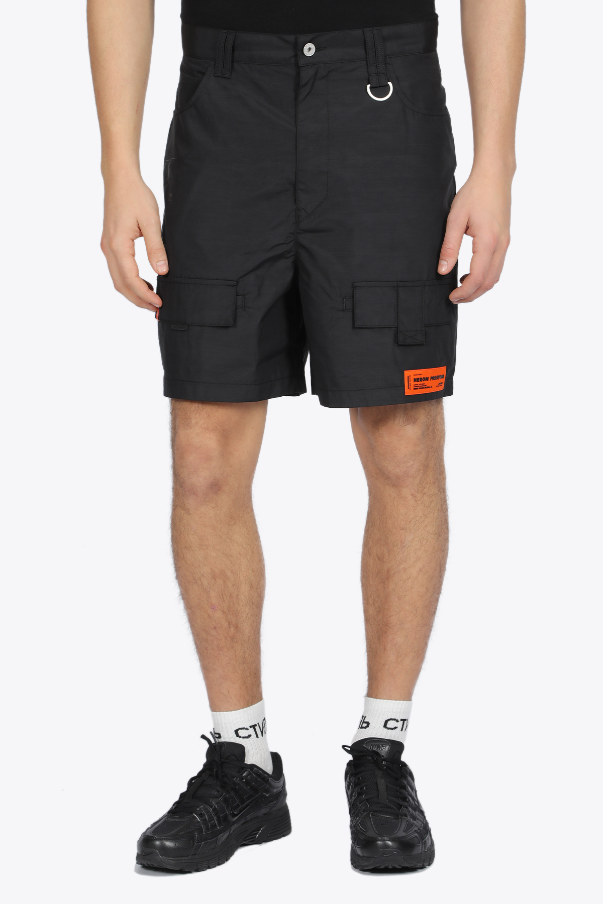 NYLON CARGO SHORTS HERON PRESTON | 30 | HMCB005S20892016 CARGO SHORTS1010
