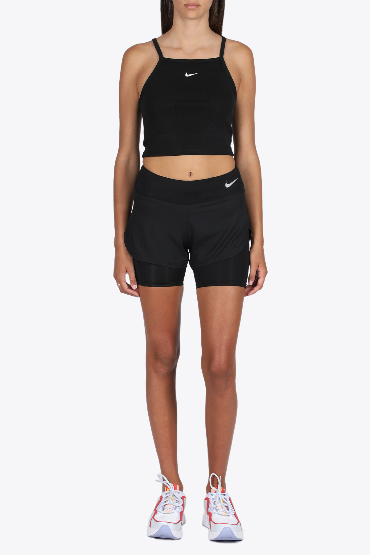 double layer shorts NIKE | 30 | AQ5420-010 SHORTSBLACK/SILVER