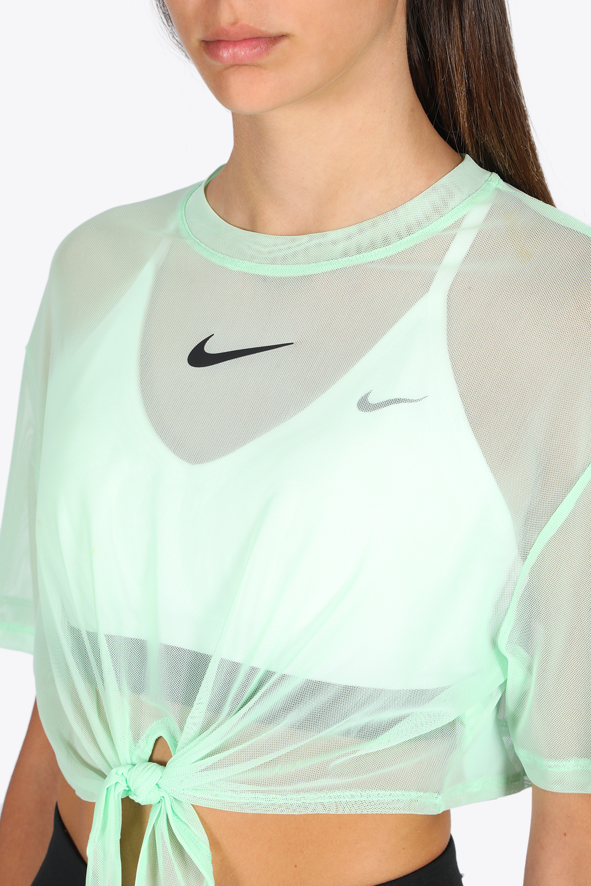 mesh top NIKE | 8 | CJ2702-318 T-SHIRTMINT