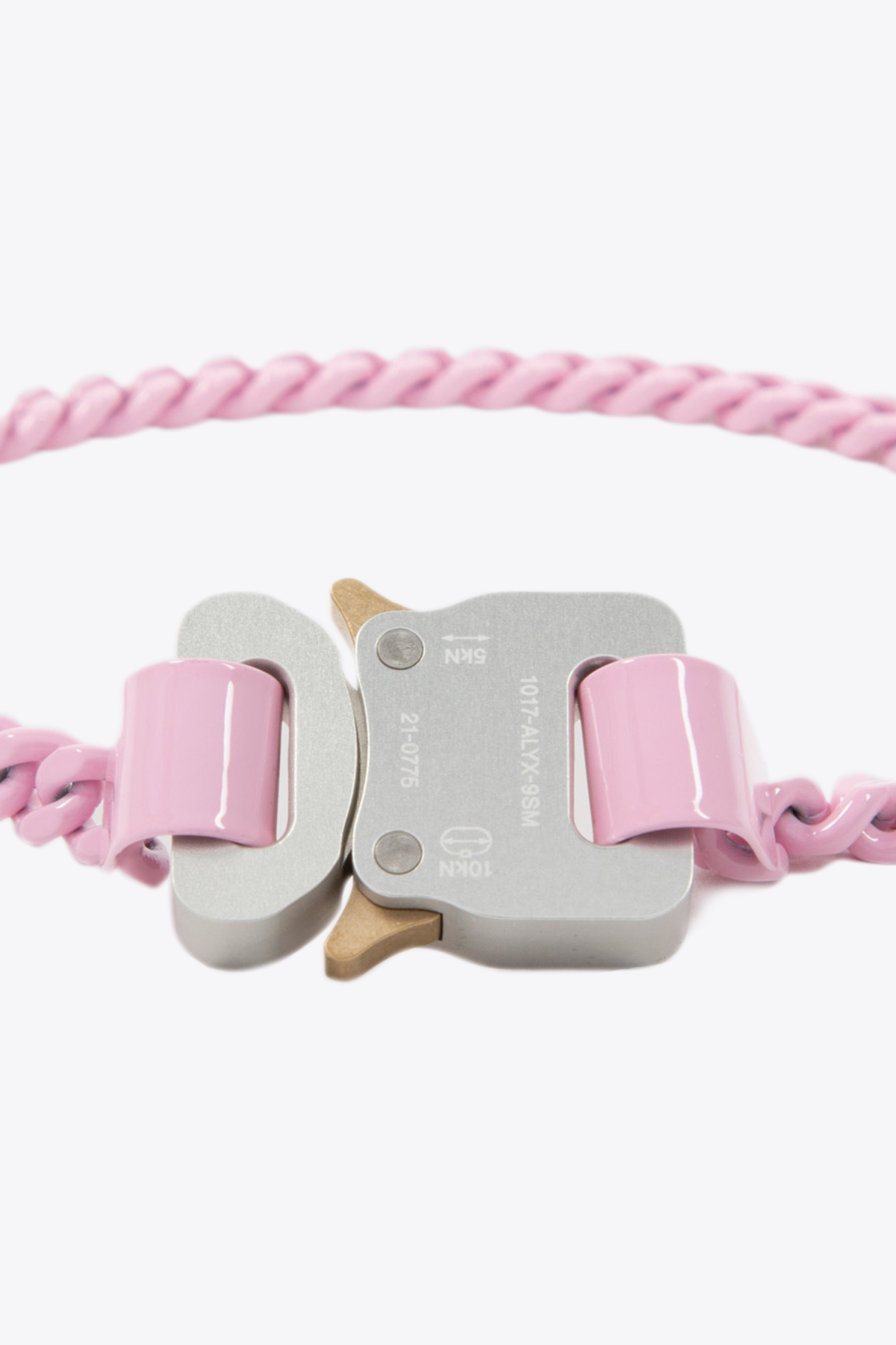 PINK CHAINLINK BUCKLE NECKLACE 1017 ALYX 9SM   35   AAUJW0097OT01 PINK CHAINLINK BUCKLE NECK06