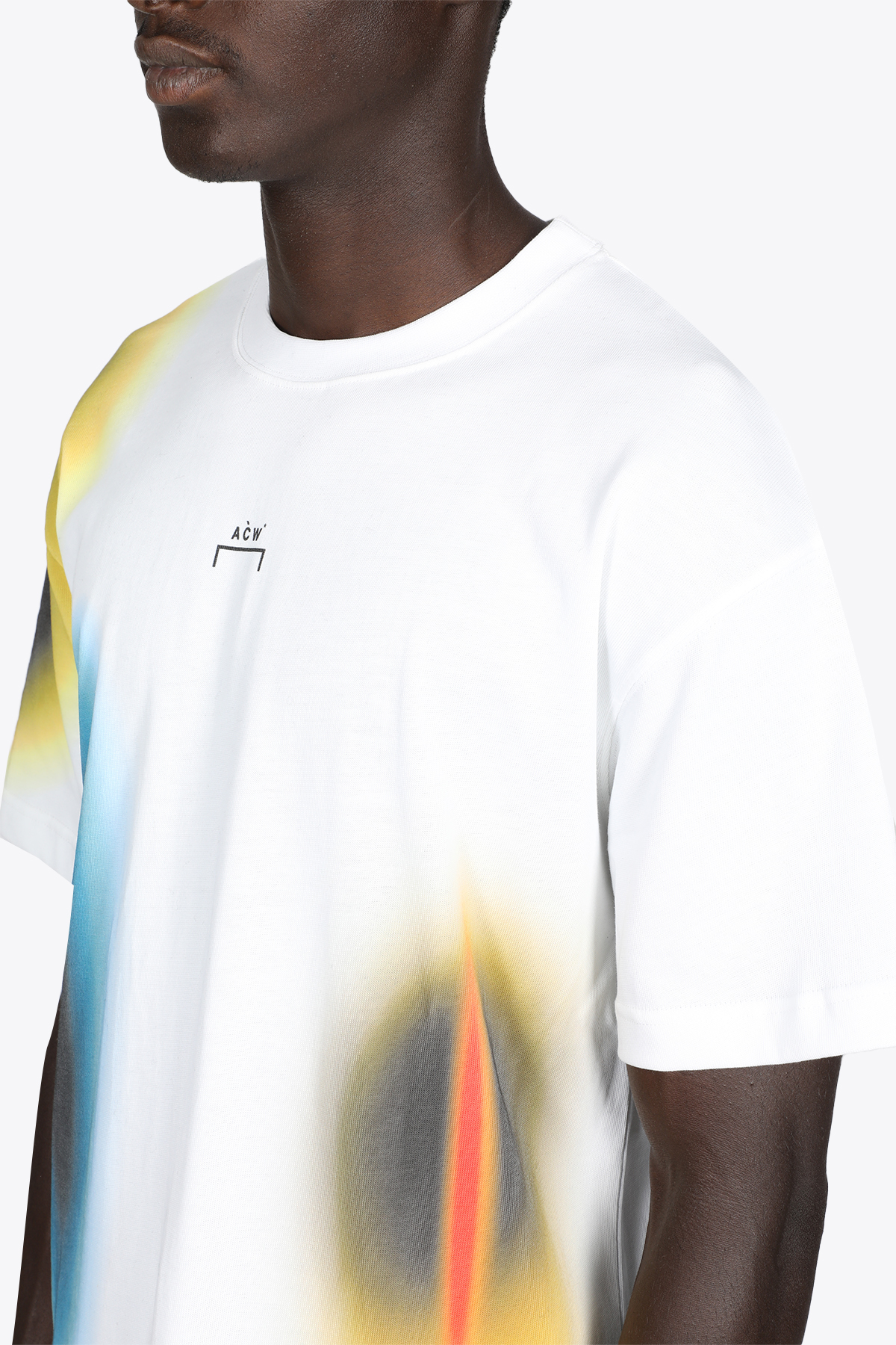 HYPERGRAPHIC SS T-SHIRT A COLD WALL | 8 | ACWMTS048 HYPERGRAPHIC SS T-SHIRTWHITE