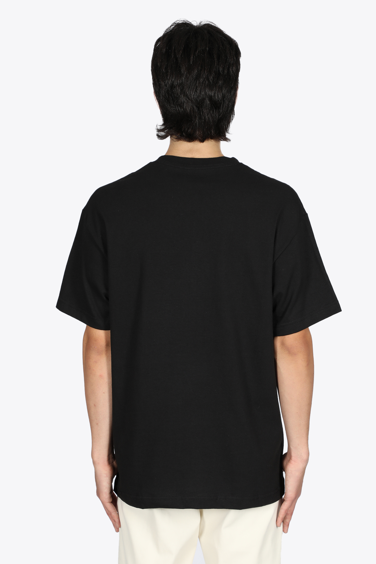 CORE EMBROIDERED T-SHIRT PLEASURES   8   P21F031 CORE EMBROIDERED T-SHIRTBLACK