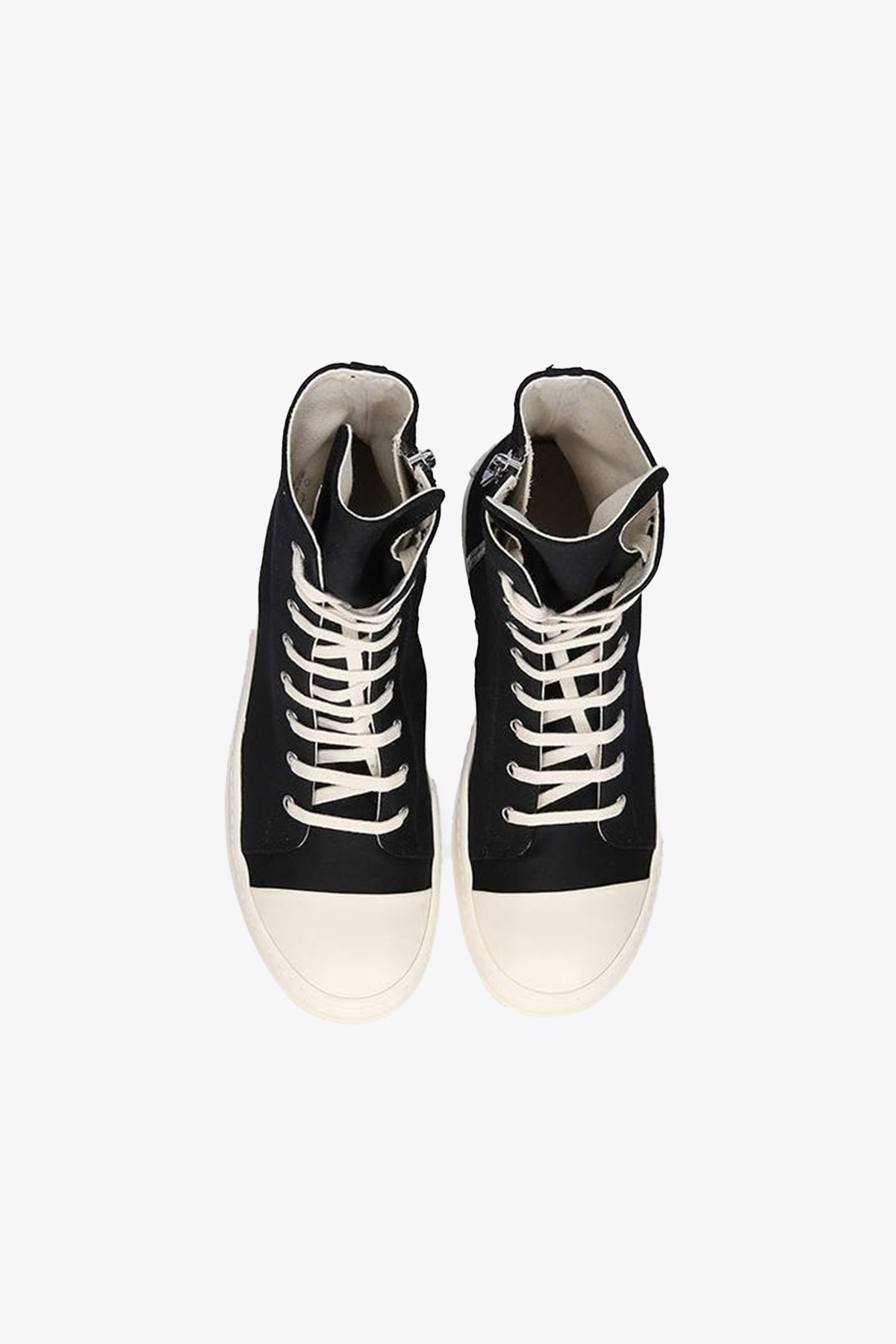 sneaker alta in cotone nera RICK OWENS-DRKSHDW | 10000039 | DS02A3800 NDKEH2 SNEAKERS911