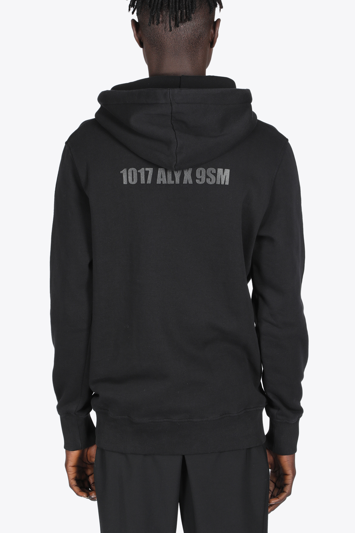 HOODIE WITH MIRROR LOGO GRAPGIC 1017 ALYX 9SM | -108764232 | AAMSW0097FA01 HOODIE WITH MIRROR LOGO GRBLACK
