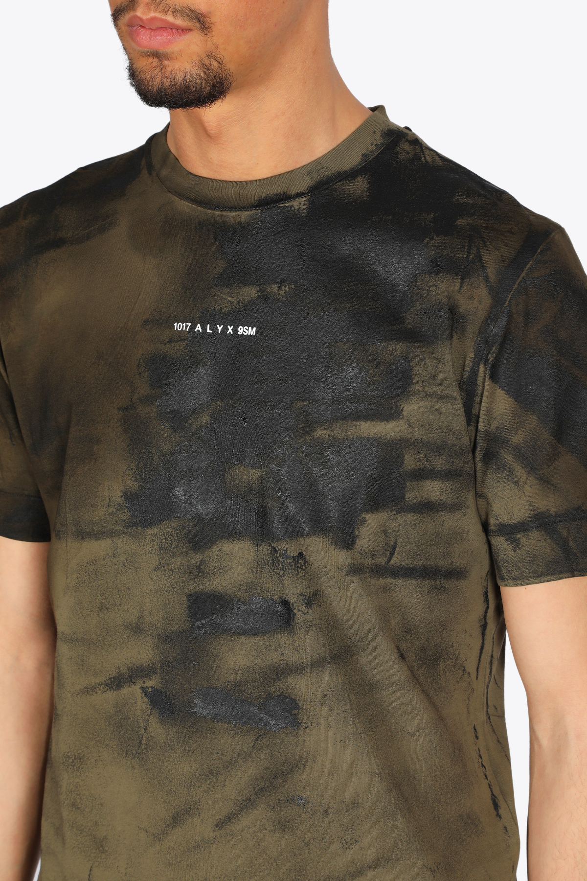 CHANGE OF HEART S/S TREATED TEE 1017 ALYX 9SM | 8 | AAMTS0225FA01 CHANGE OF HEART S/S TREATECAMO DARK OLIVE