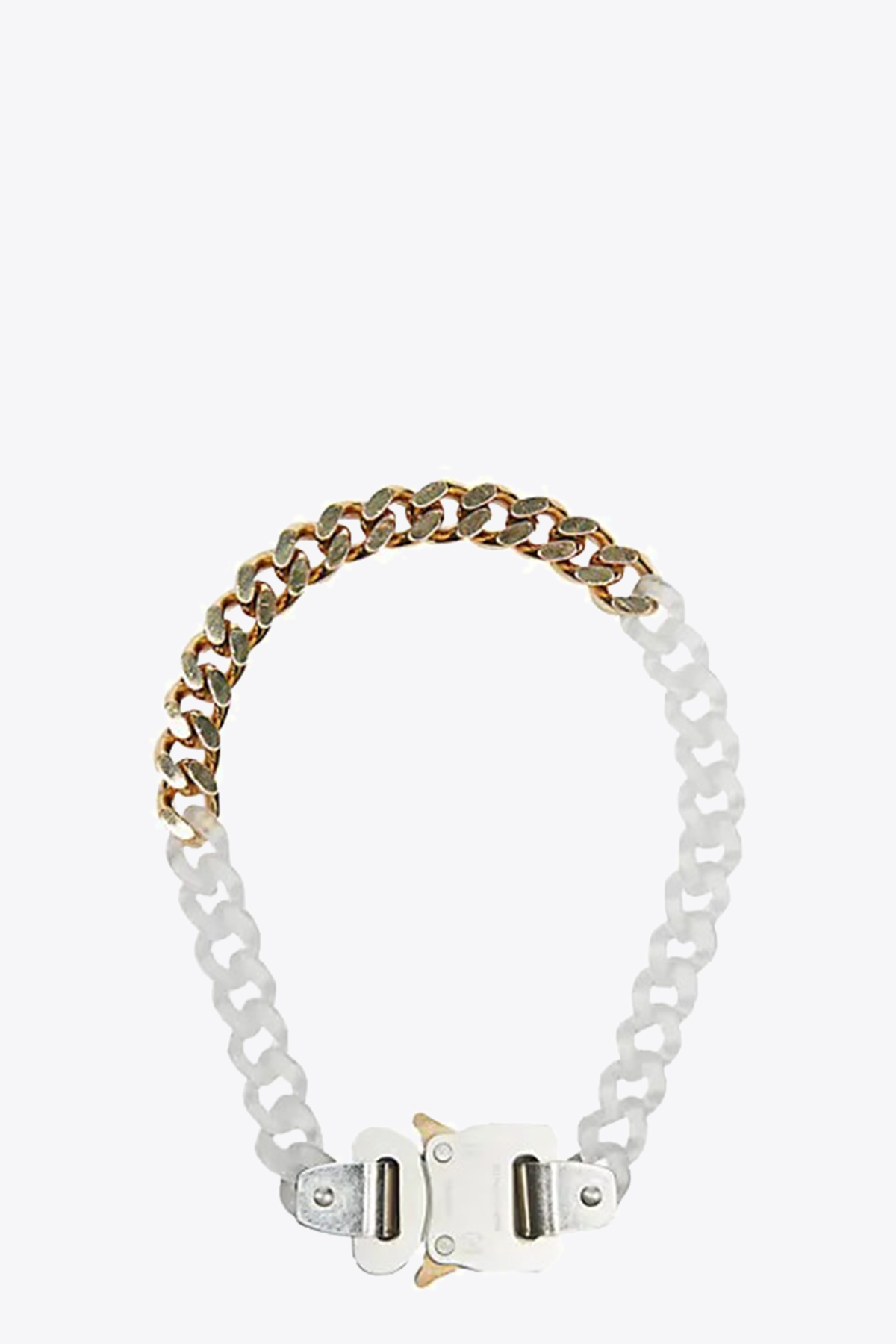 TRANSPARENT CHAIN AND METAL NECKLACE 1017 ALYX 9SM | 35 | AAUJW0033OT02 TRANSPARENT CHAIN AND METATRANSPARENT/GOLE