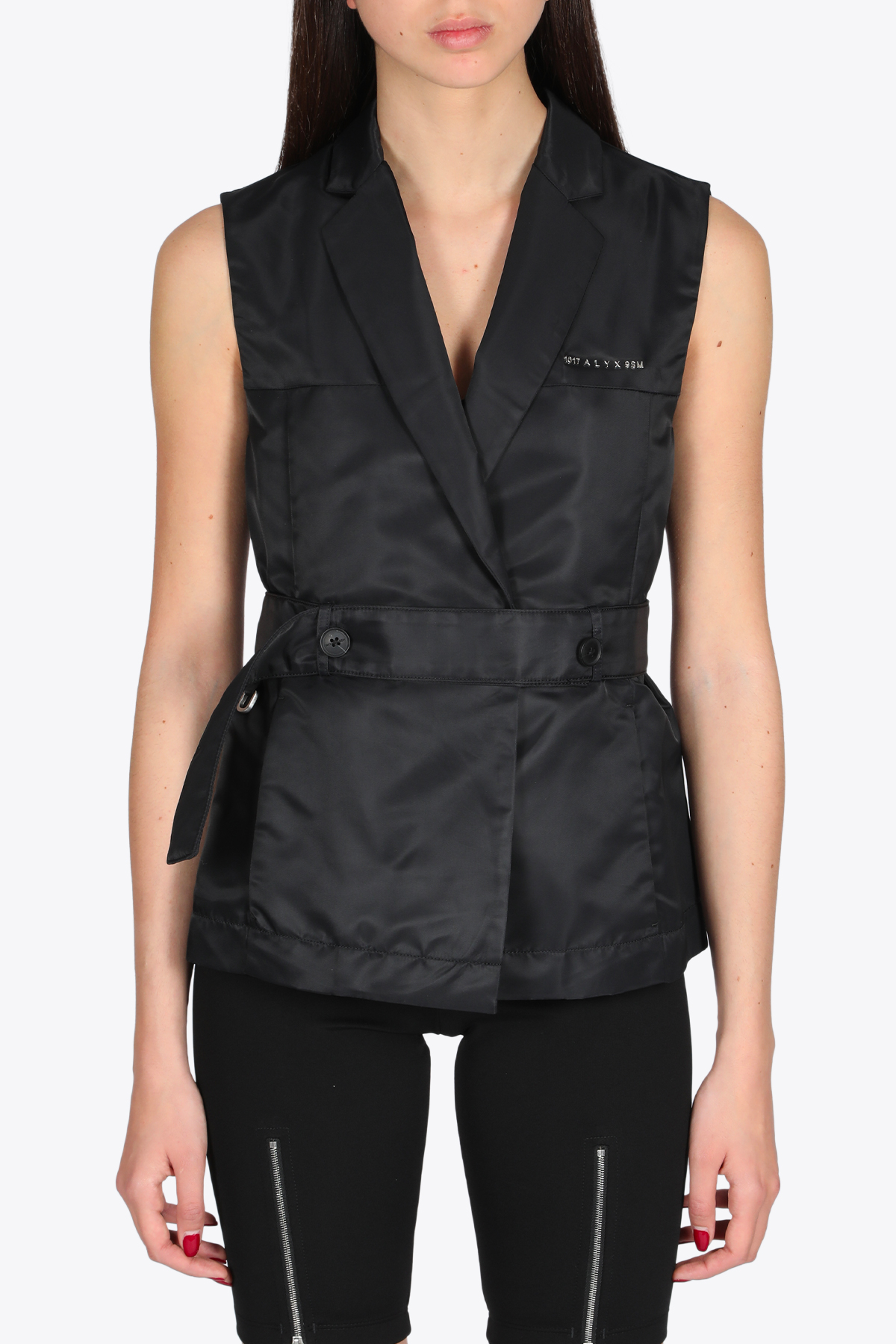 WOMENS TAILORING VEST 1017 ALYX 9SM | 38 | AAWTA0064FA01 WOMENS TAILORING VESTBLACK