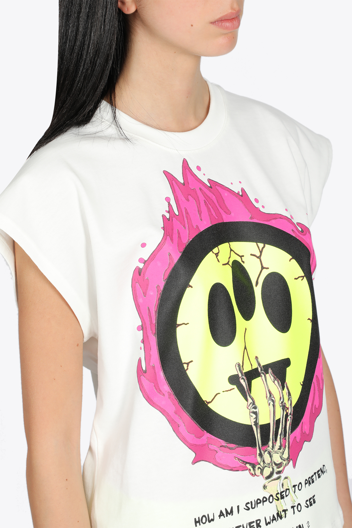 T-SHIRT SMILE IN FIAMME BARROW | 8 | 029290002