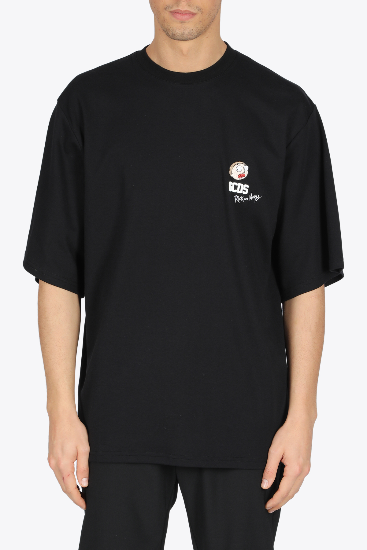 RICK AND MORTY OVERSIZED TEE GCDS | 8 | RM21M020060 OVERSIZE TEE02