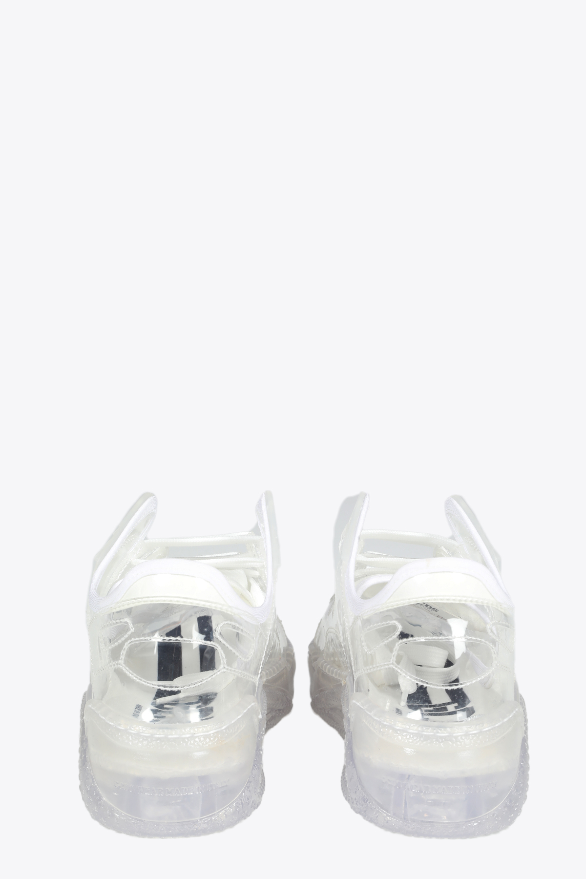 TRANSPARENT SKATE SNEAKERS GCDS | 10000039 | SS21M010003 TRANSPARENT SKATE SNEAKERSTRA