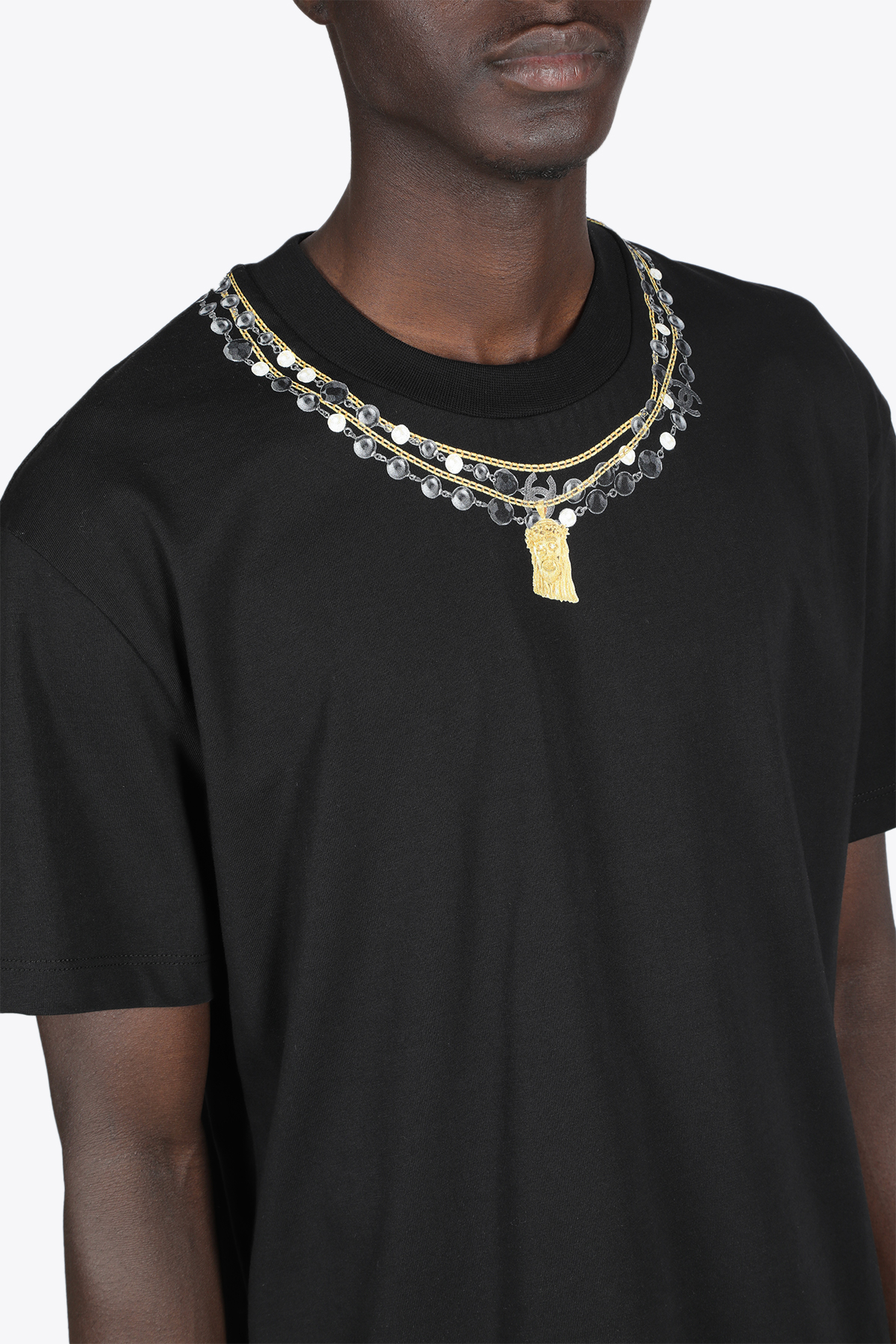necklace print tee IH NOM UH NIT | 8 | NCS21251 NECKLACE PRINT009