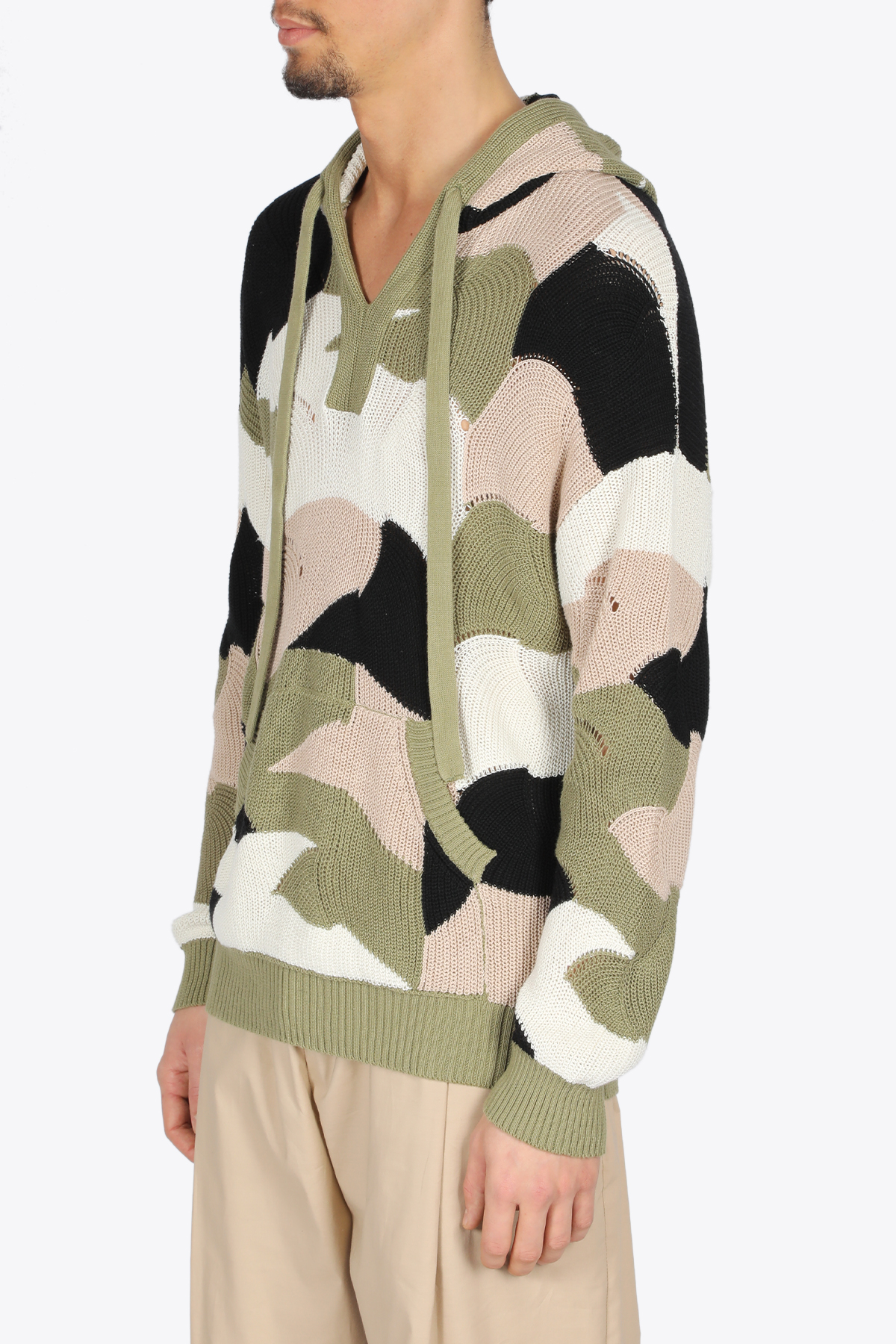 HOODED CAMO PULL LANEUS | -1384759495 | CPU1000VAR1