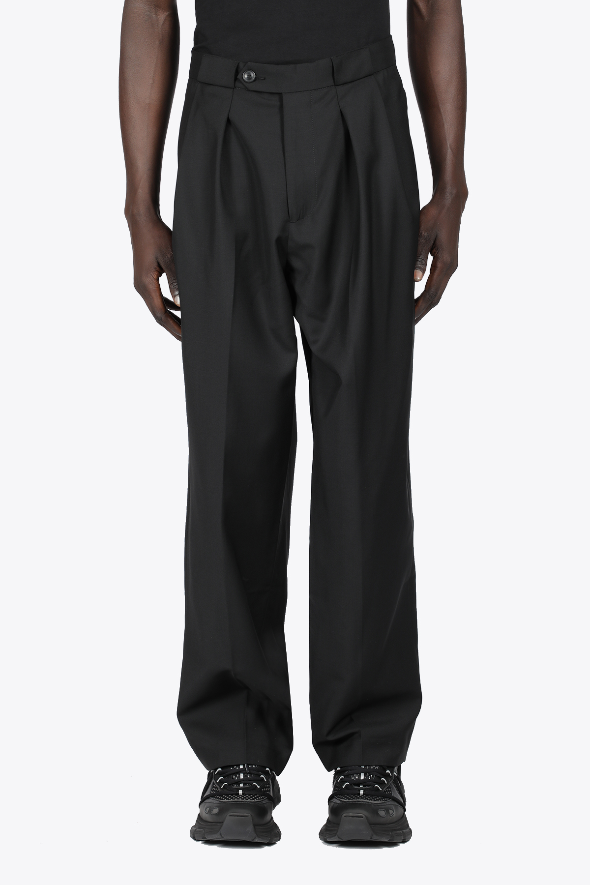 RELAXED TROUSERS LOWNN | 9 | RELAXED TROUSERSBLACK
