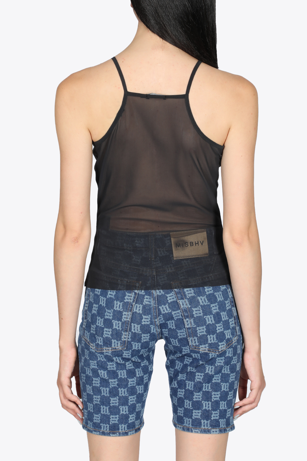 WE ARE ONE CRYSTAL TANK TOP MISBHV | 40 | 021W110 WE ARE ONE CRYSTAL TANK TOPBLACK