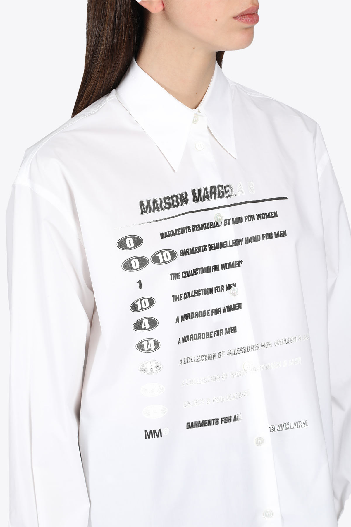 COLLECTION PRINT SHIRT MM6 MAISON MARGIELA | 6 | S52DL0149 S47294100