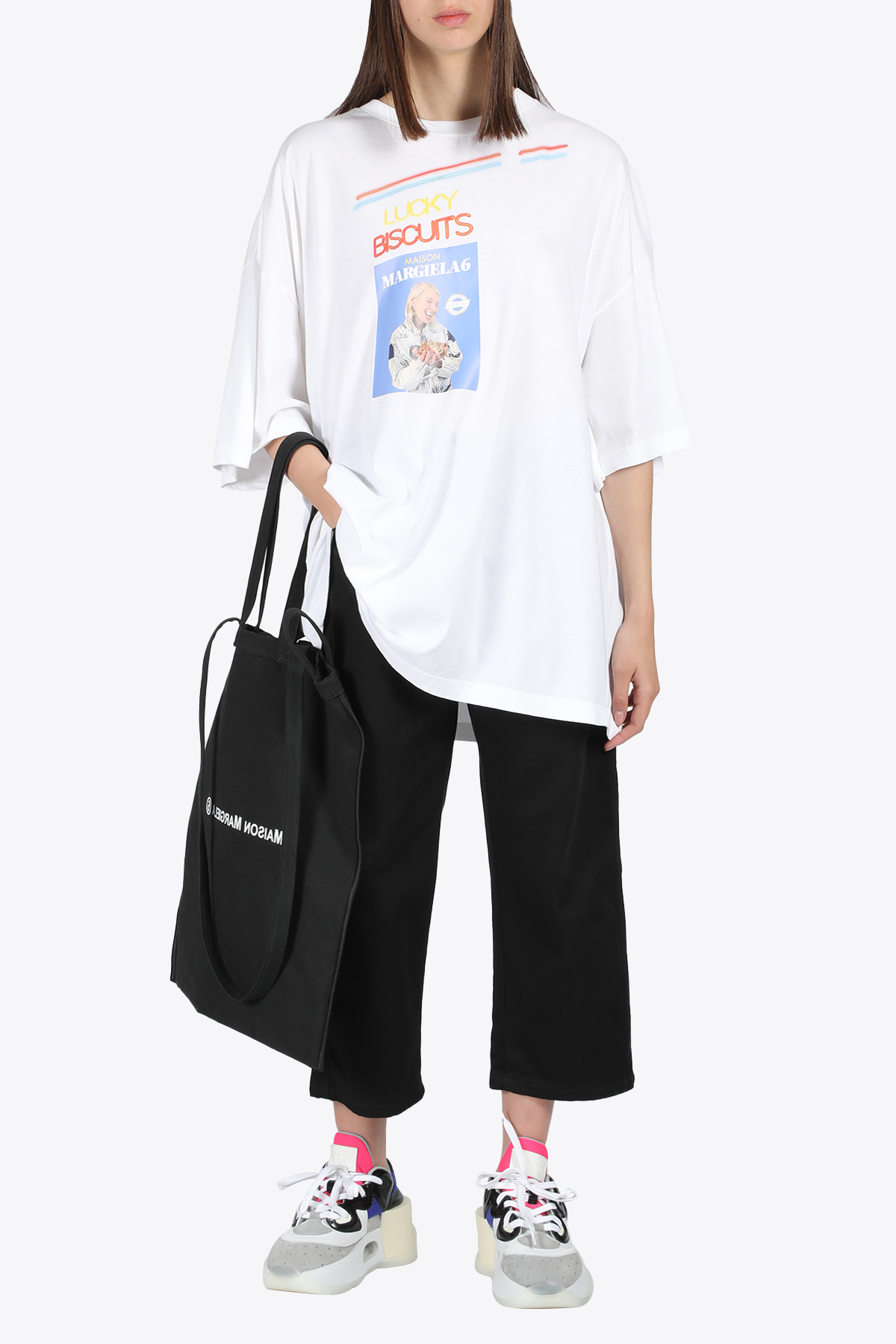 LUCKY BISCUITS T-SHIRT MM6 MAISON MARGIELA | 8 | S52GC0179 S23588100