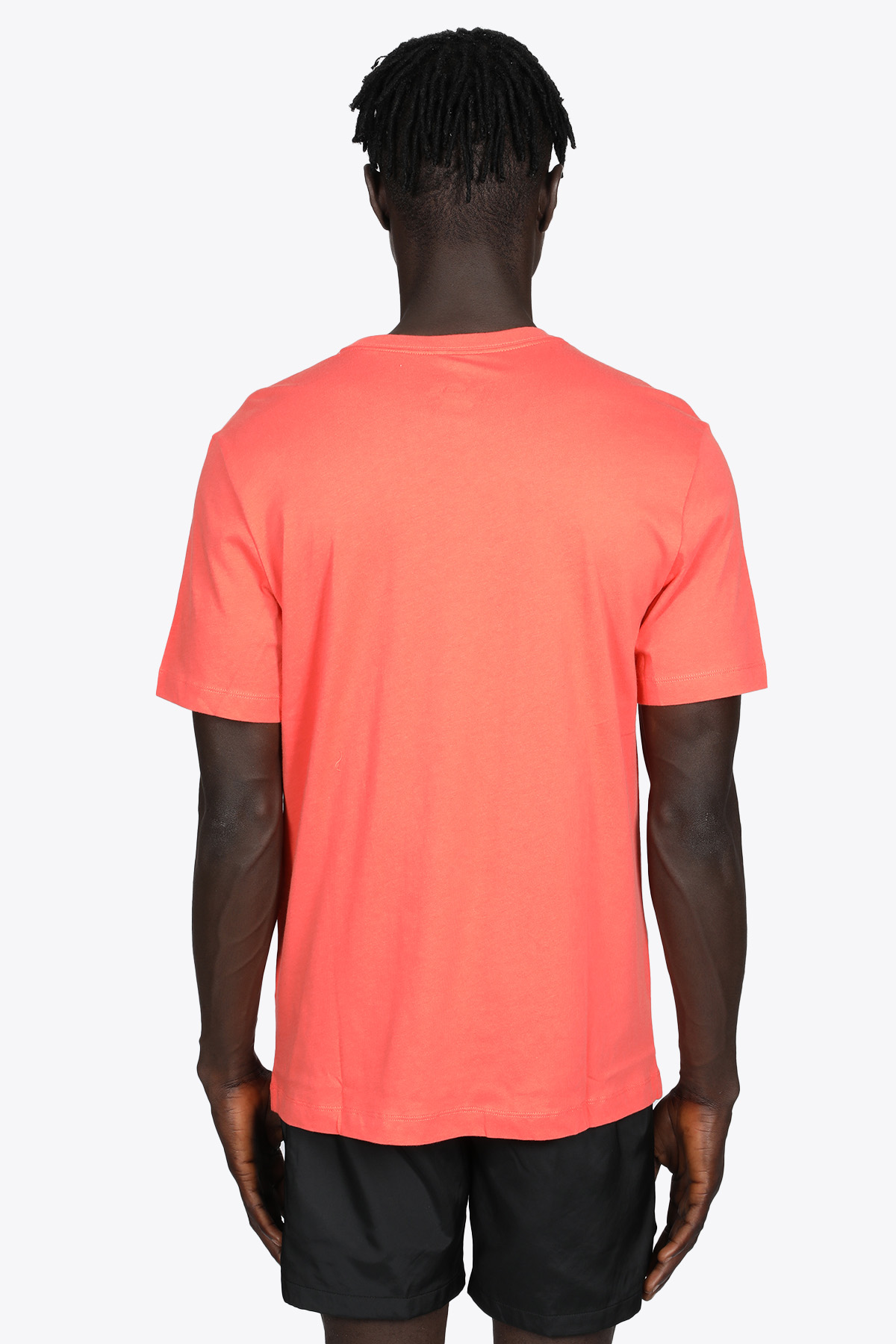 CORAL RED COTTON T-SHIRT WITH LOGO NIKE | 8 | AR4997814