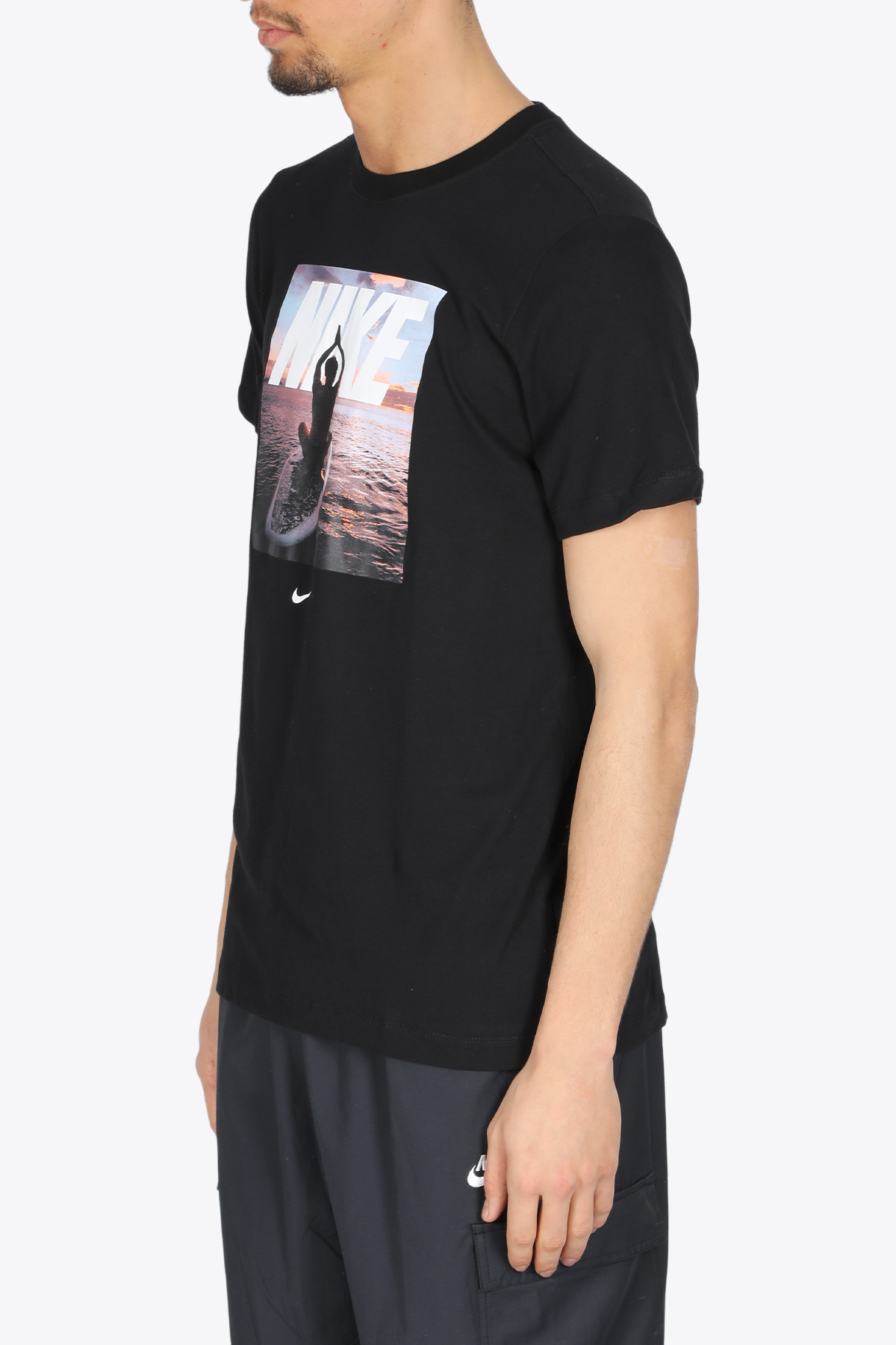 yoga tee NIKE | 8 | DA0655-010BLACK/MULTI