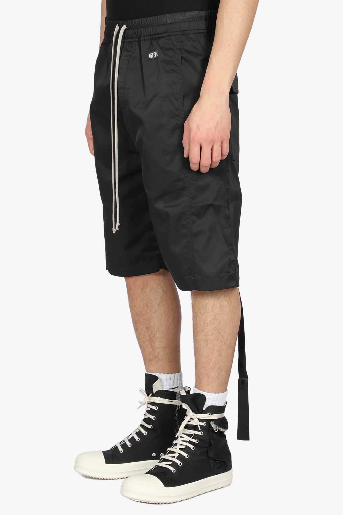 PUSHER SHORTS RICK OWENS-DRKSHDW | 30 | DU21S2383 TAR PUSHER SHORTS09