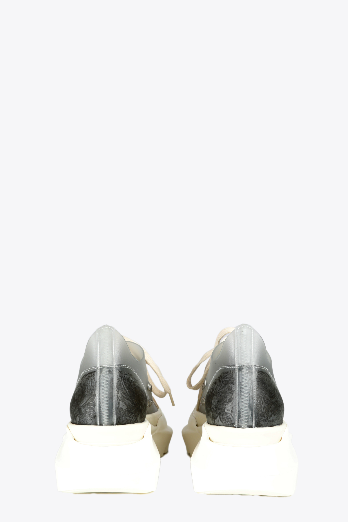 SENAKER BASSA IN PVC TRASPARENTE CON SUOLA ABSTRACT RICK OWENS-DRKSHDW | 10000039 | DU21S2842 VYTMS1 ABSTRACT LOW SNEAKERS101111