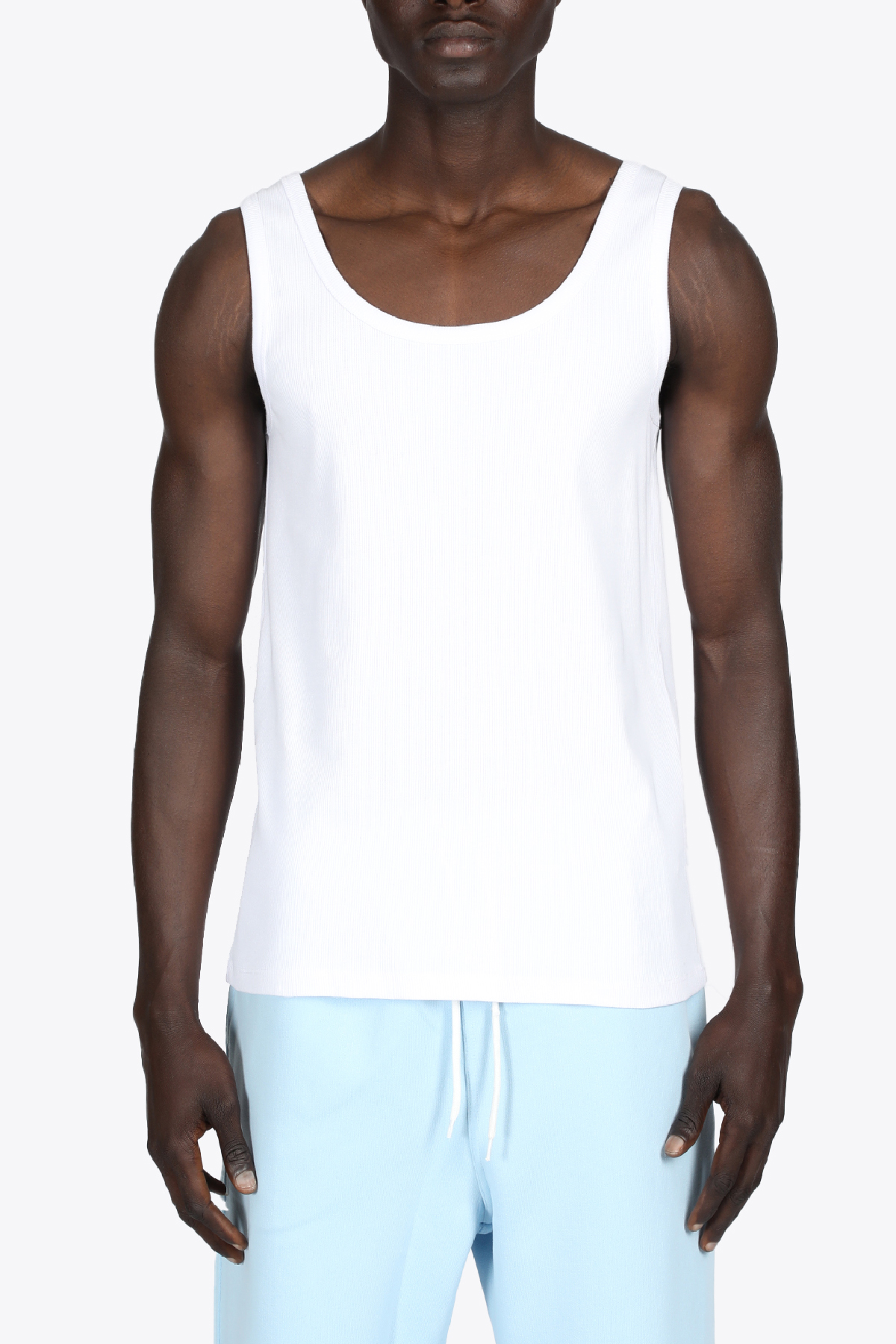 RIBBED TANK THE FUTURE | 46 | TF0005WHITE