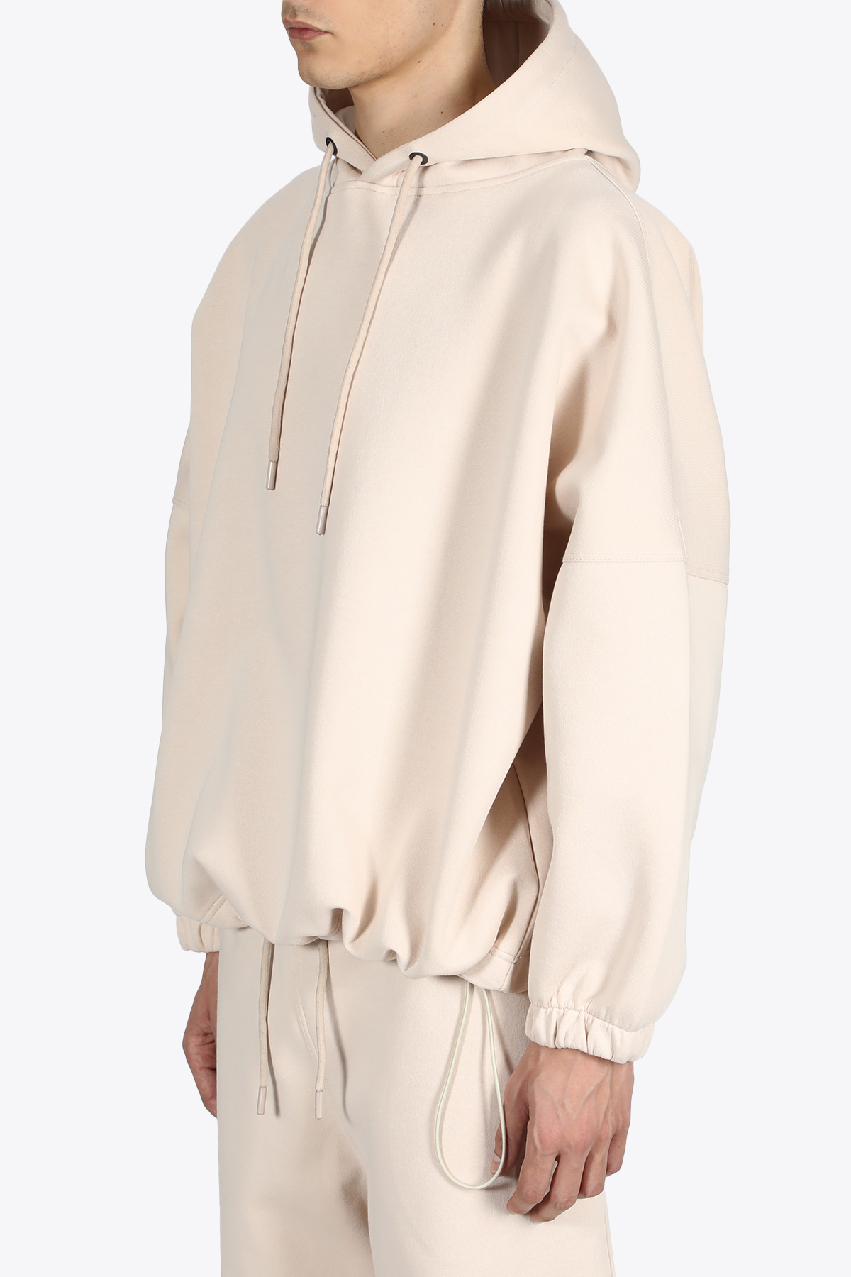 DROPPED SHOULDERS HOODIE THE FUTURE | -108764232 | TF0012BEIGE