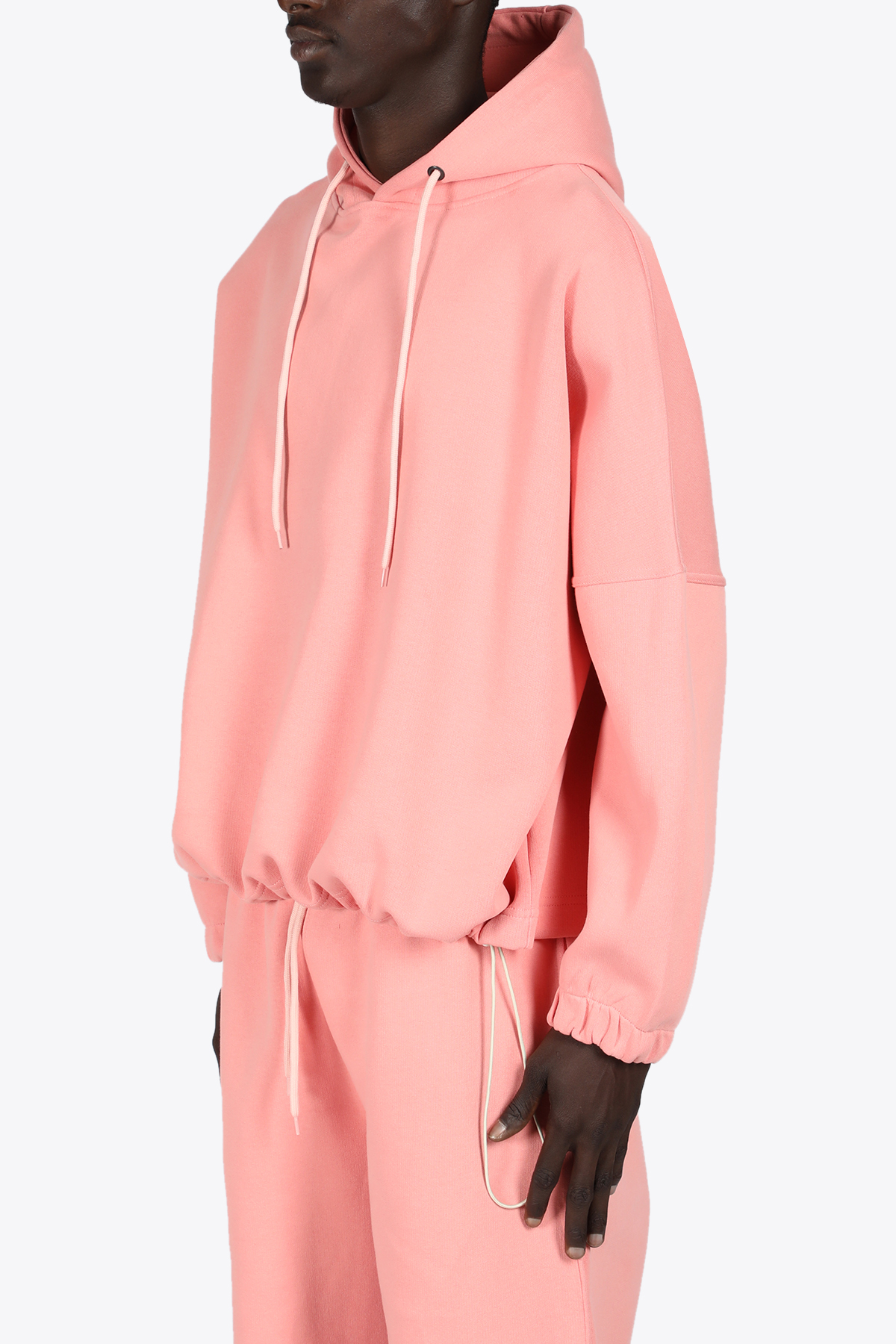 DROPPED SHOULDERS HOODIE THE FUTURE | -108764232 | TF0012PINK