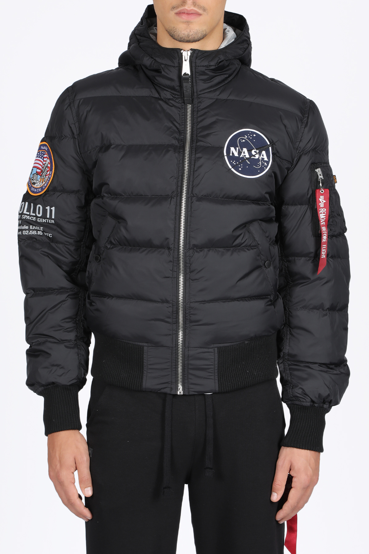 ALPHA INDUSTRIES | -276790253 | 188142 B HOODED PUFFER APOLLO03