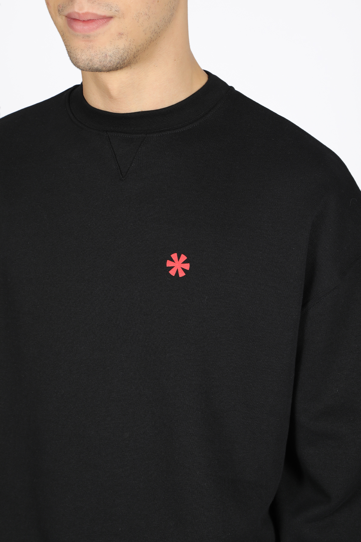 crewneck sweat chest logo STRIKESTUDIO | -108764232 | CHEST-STRW19202009
