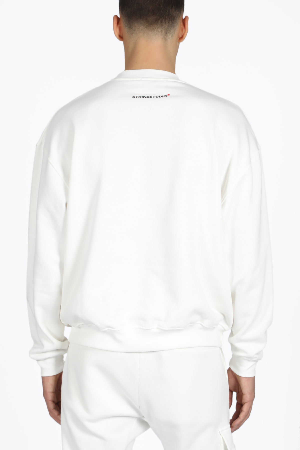crewneck sweat chest logo STRIKESTUDIO | -108764232 | CHEST-STRW19202111