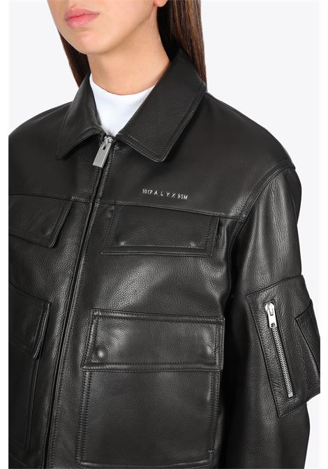 NEW WOMENS POLICE JACKET 1017 ALYX 9SM | 3 | AAWOU0154LE02 NEW WOMENS POLICE JACKETBLACK